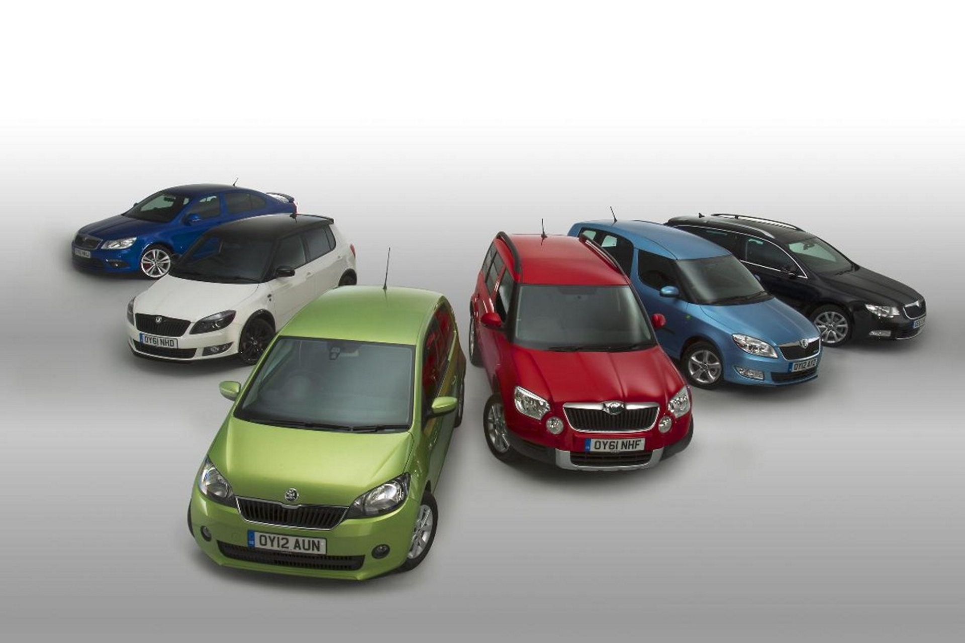 Skoda new sales record