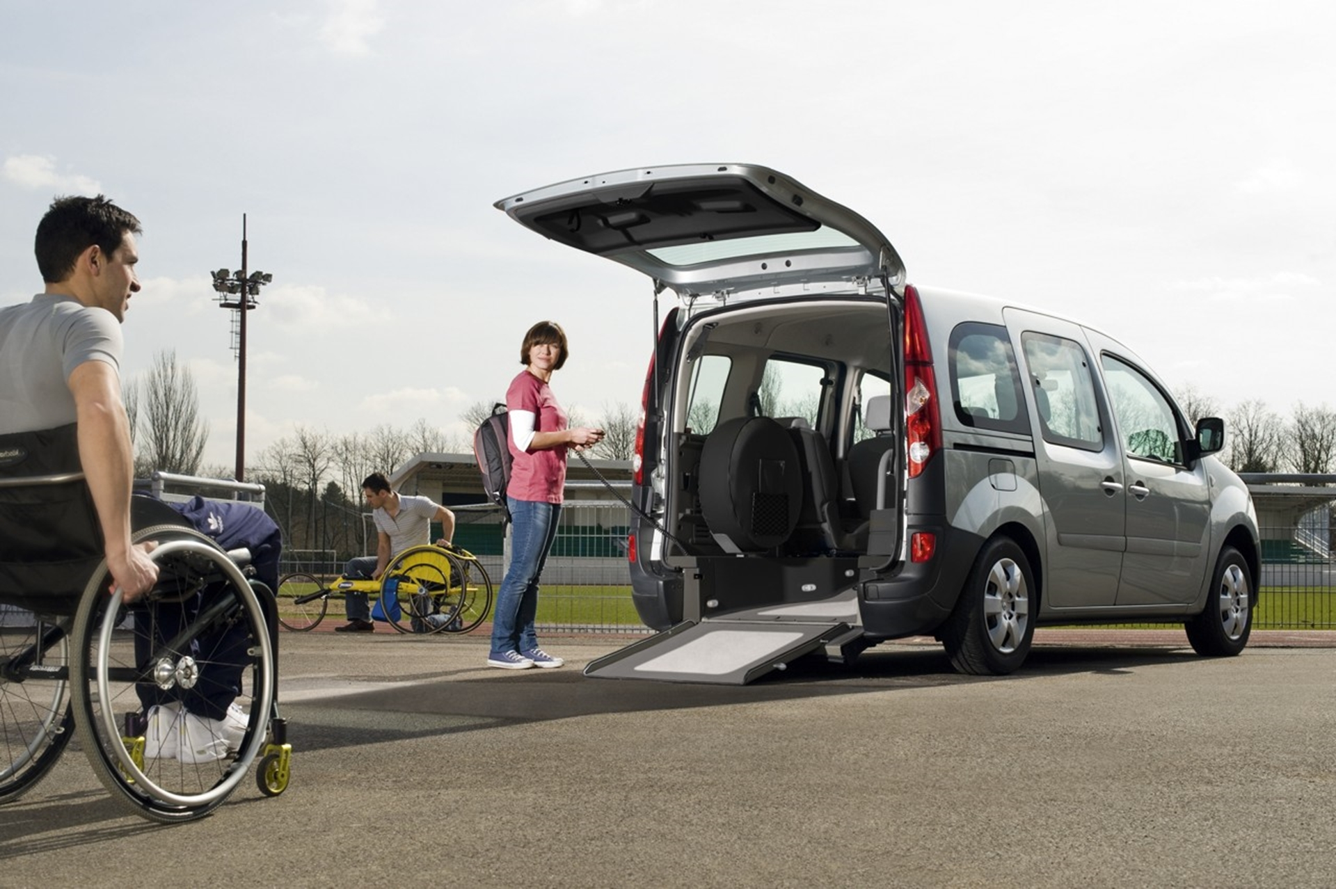 car for disabled people