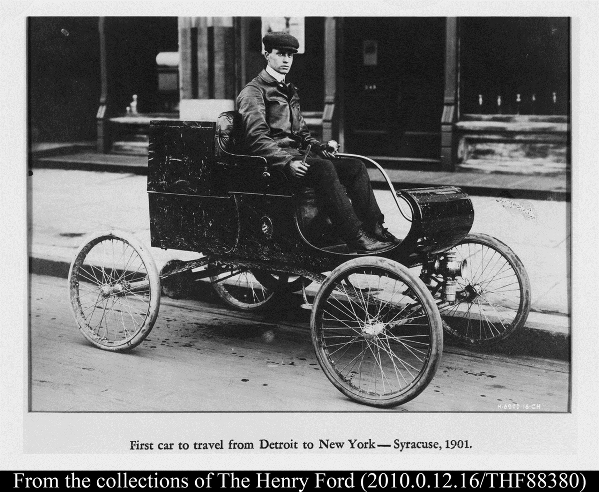 ford first electrical vehicle