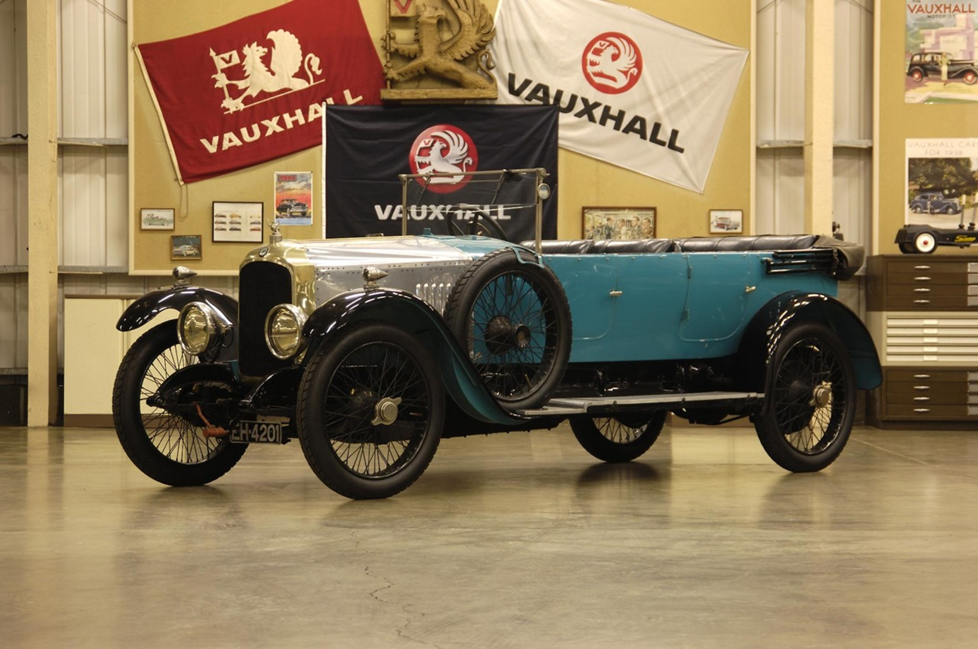 1923 Vauxhall OD-Type 23 60 Kington Tourer