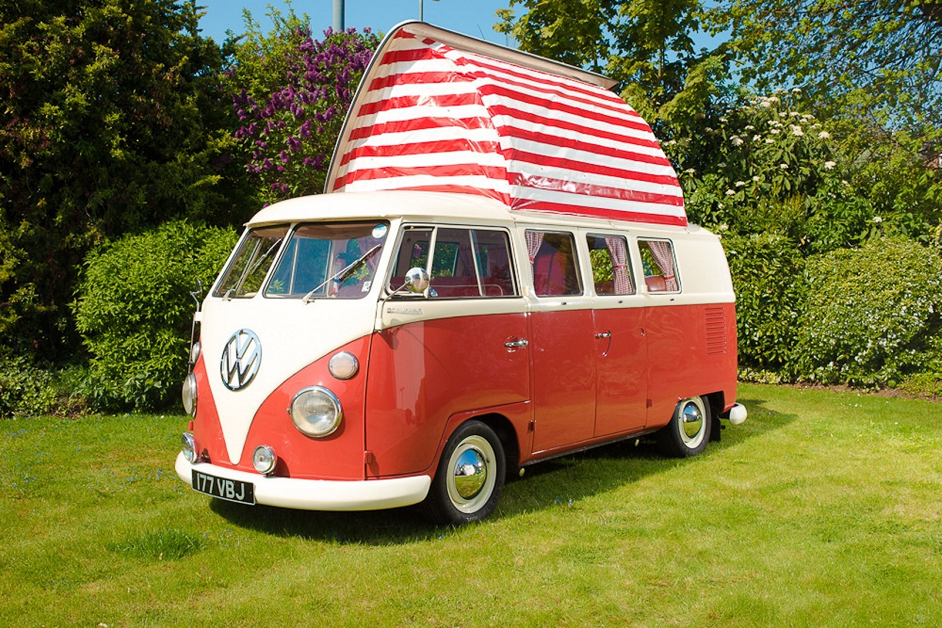 1964 VW split screen campervan