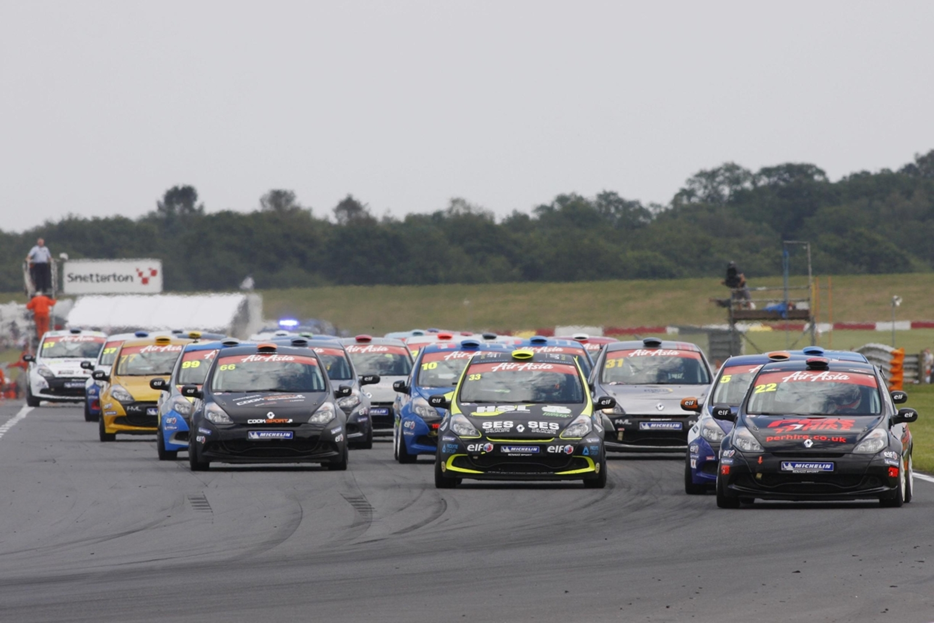AirAsia Renault UK Clio Cup at Snetterton