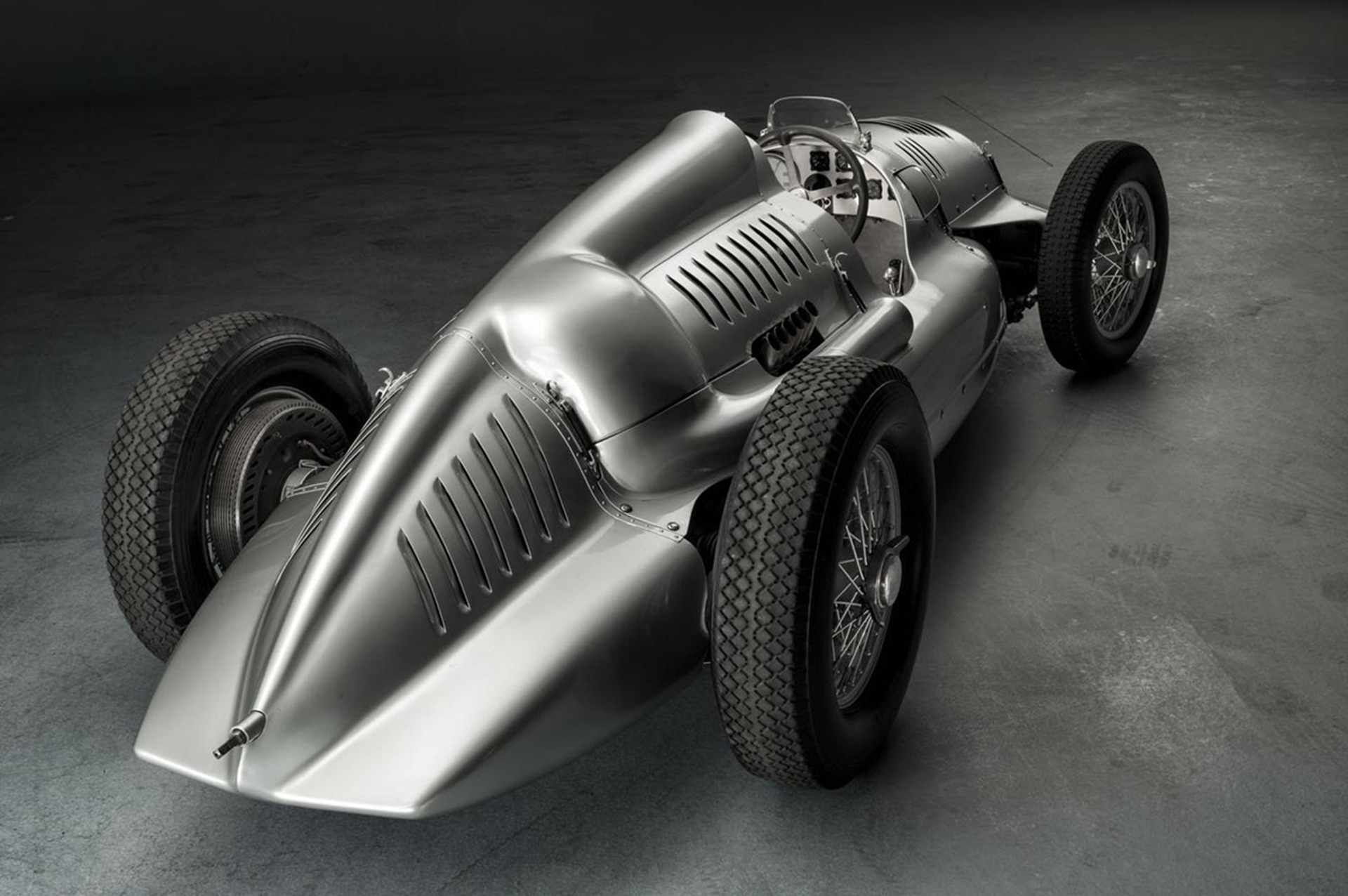 Auto Union Type D Twin Supercharger