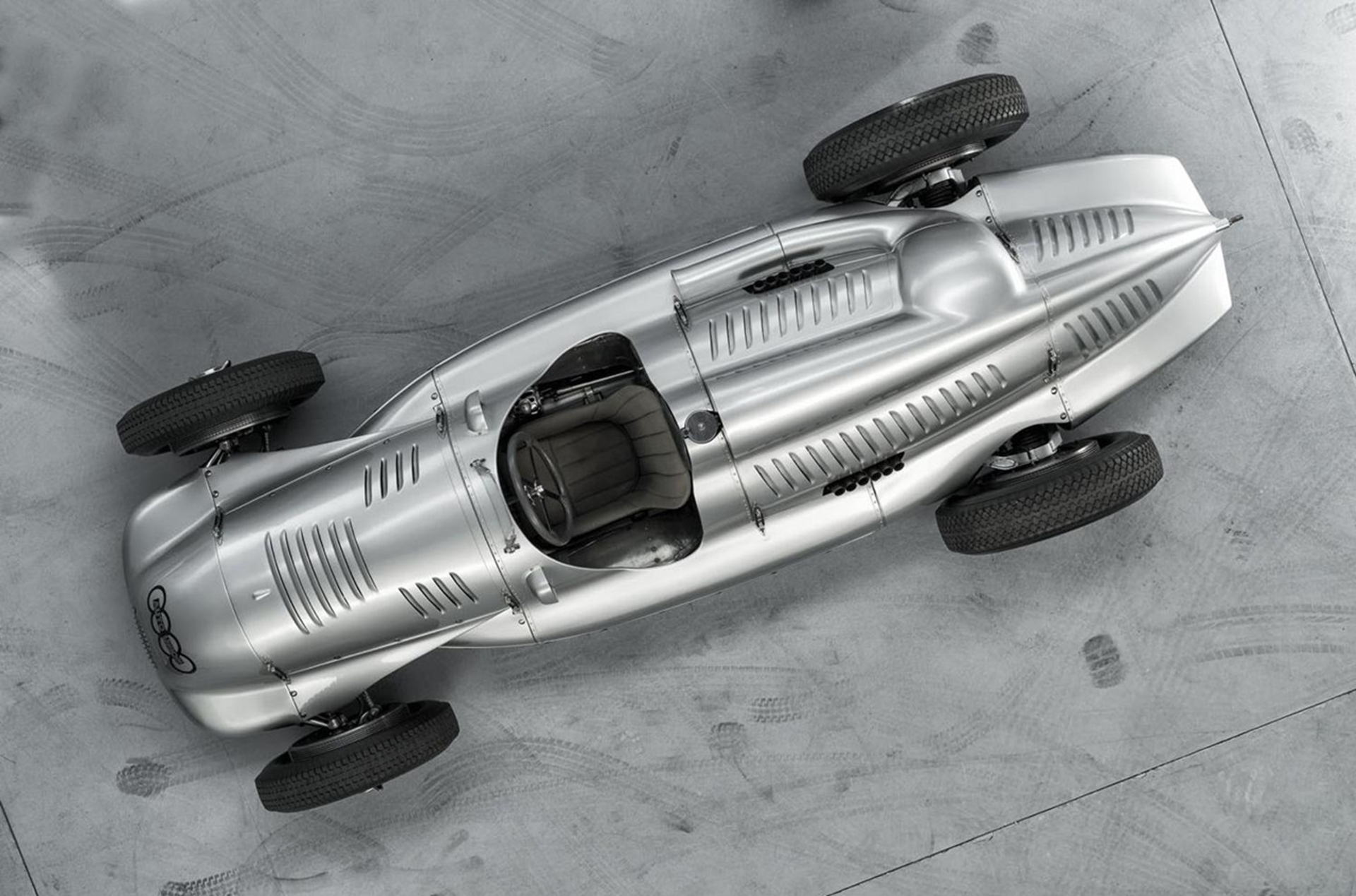 Auto Union Type D Twin-Supercharger Racing Car