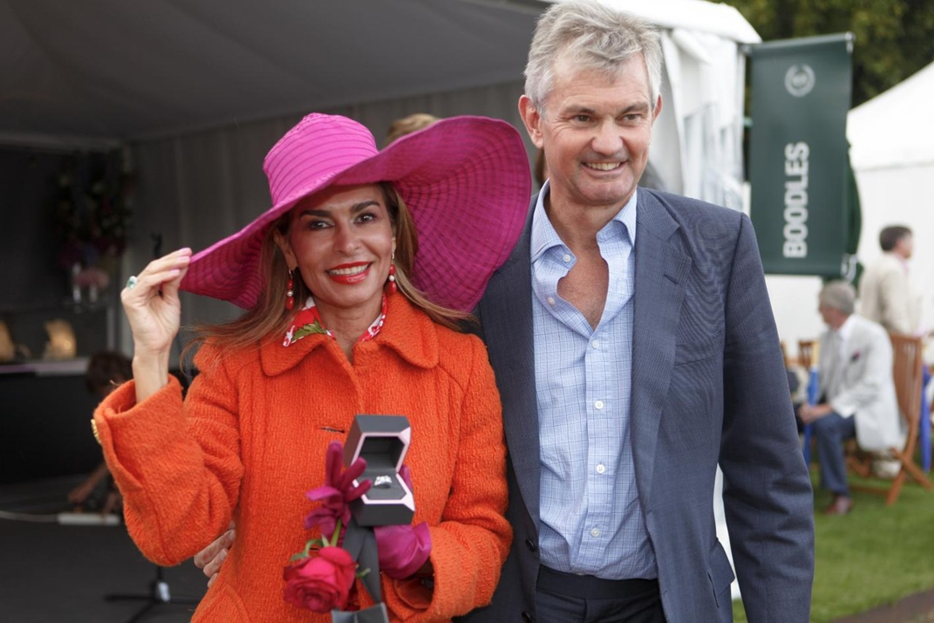 Director Nick Wainwright with Ladies Day winner