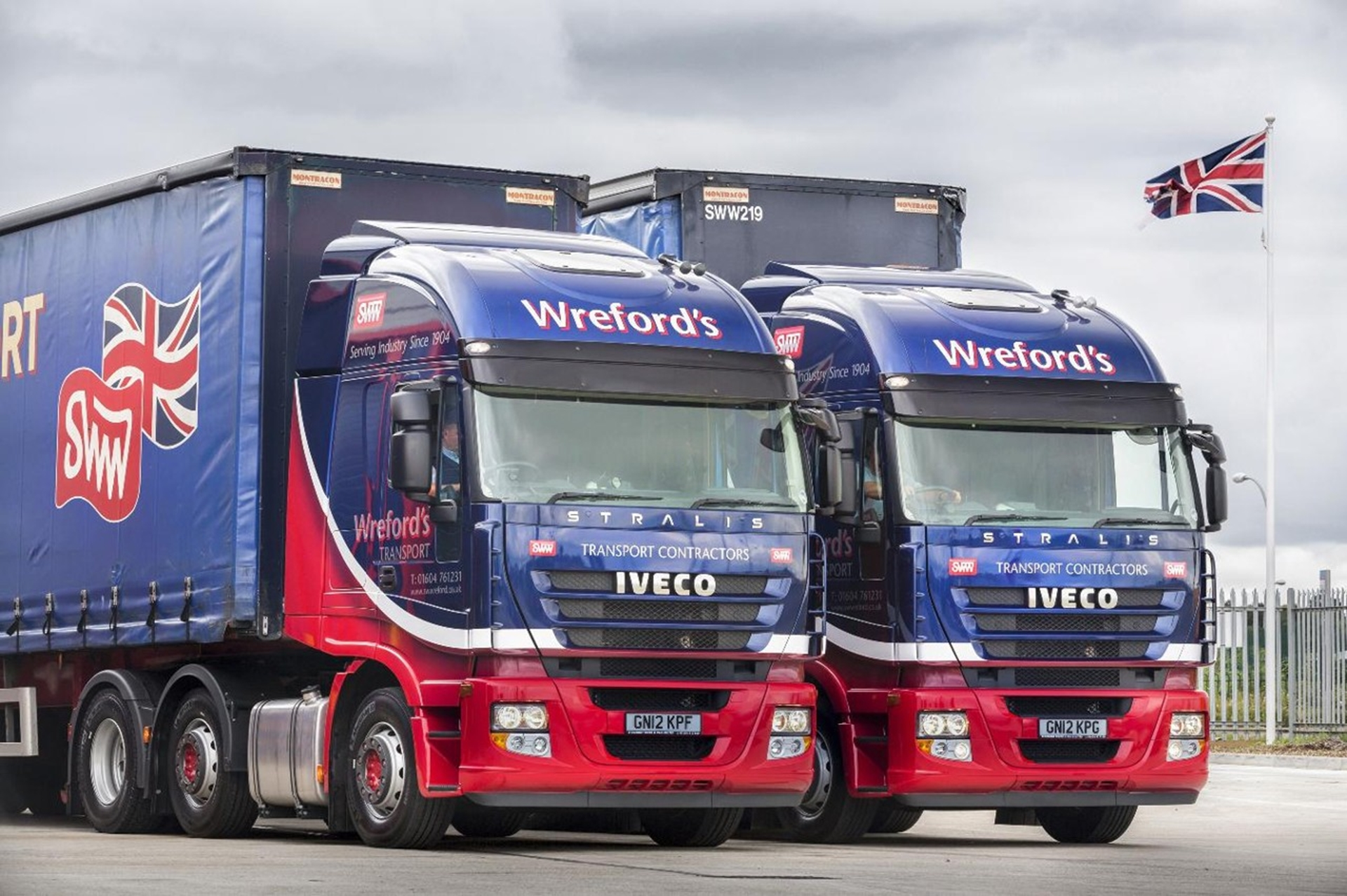 Stormont Delivers First Iveco Heavy Trucks Into Wreford S