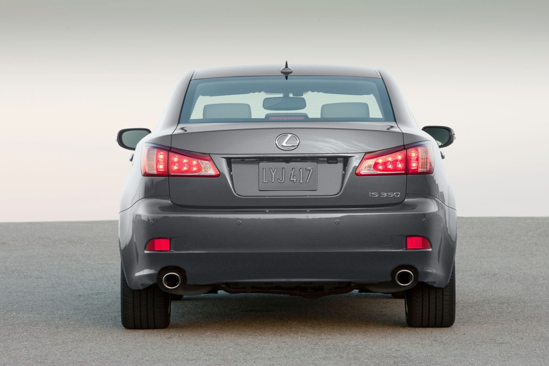 Lexus Is 350 Rear