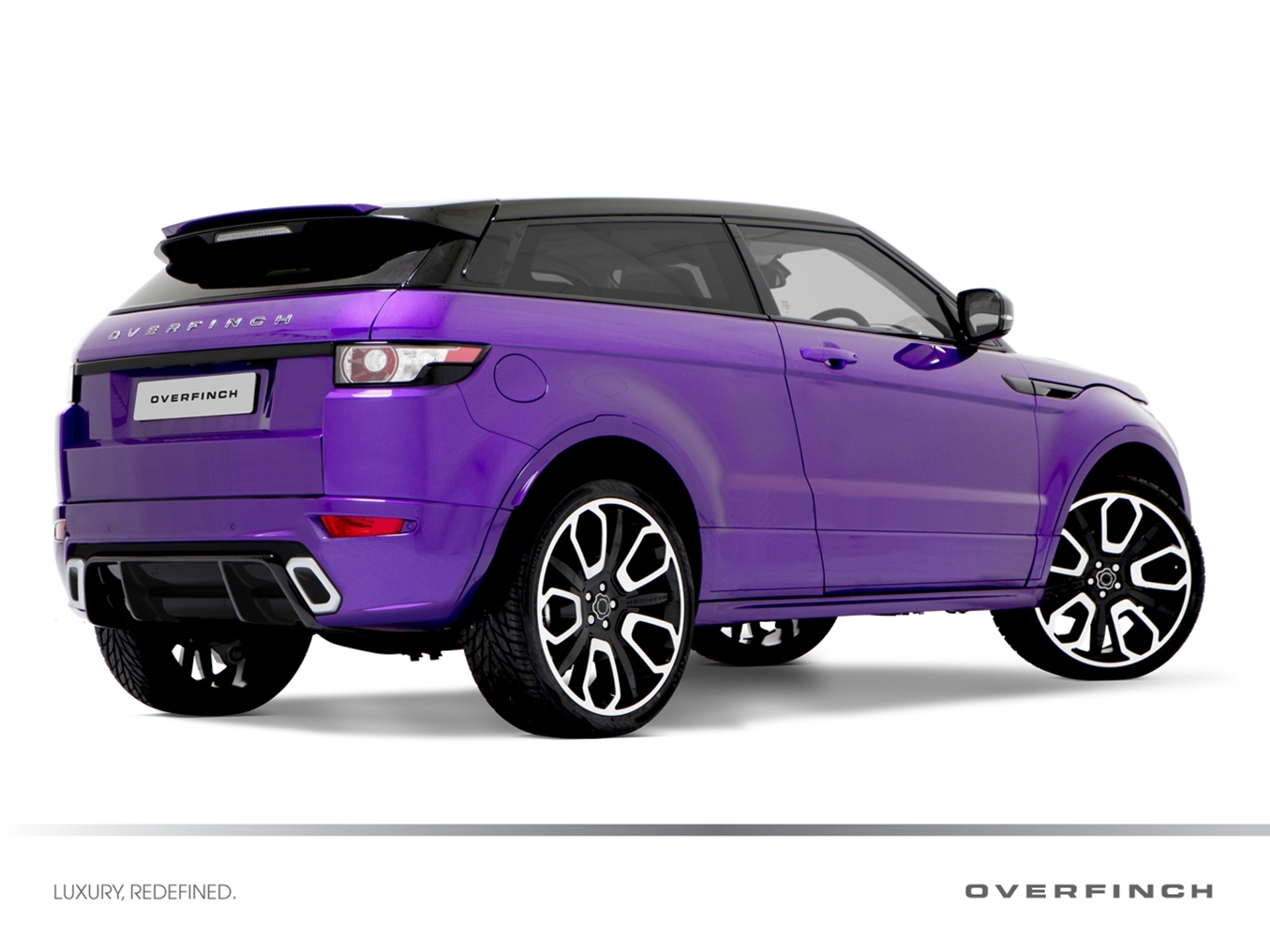 Limited Edition Overfinch Range Rover Evoque 2012 GTS