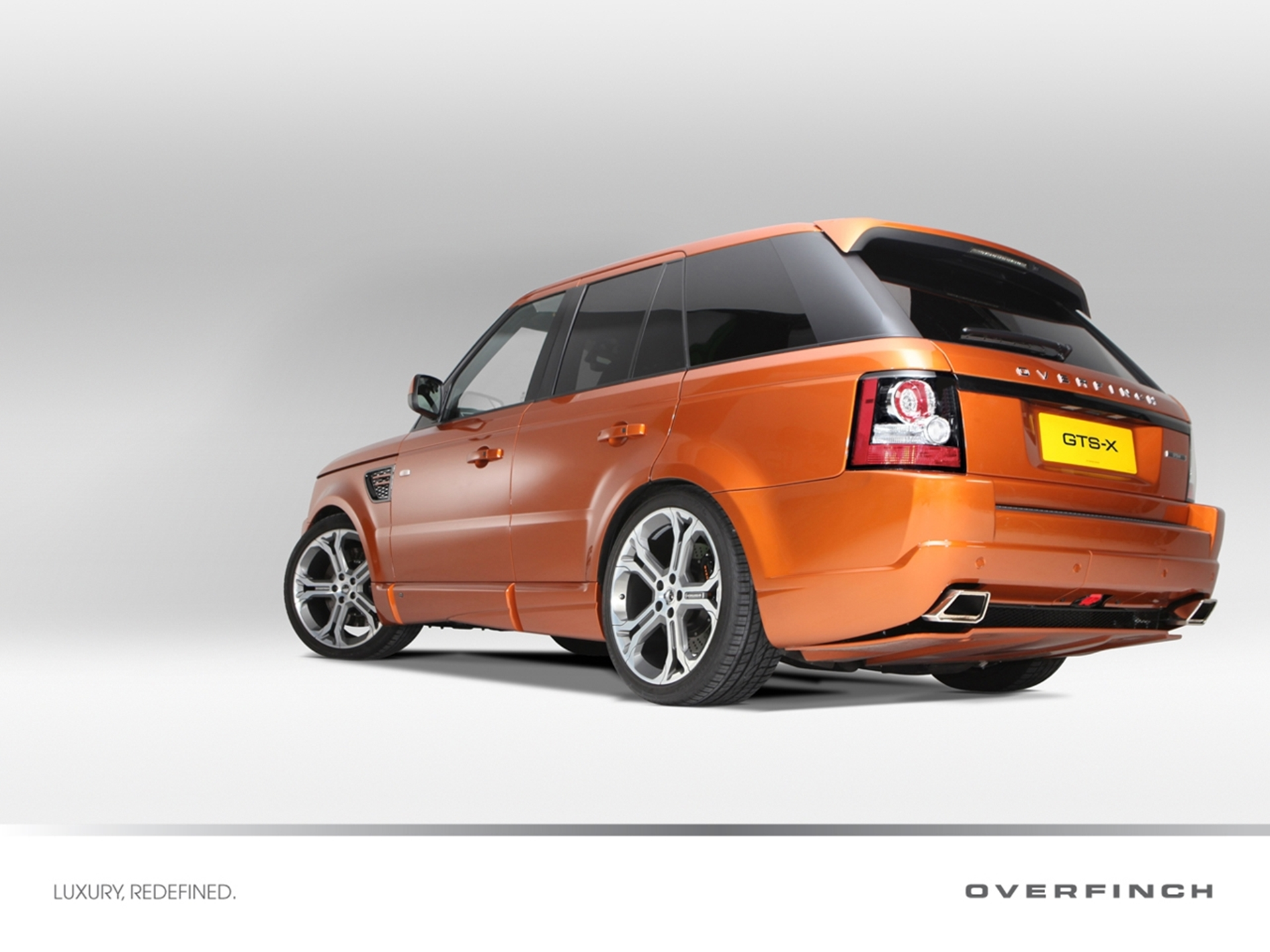 Limited Edition Overfinch Range Rover Sport GTS-X 2012