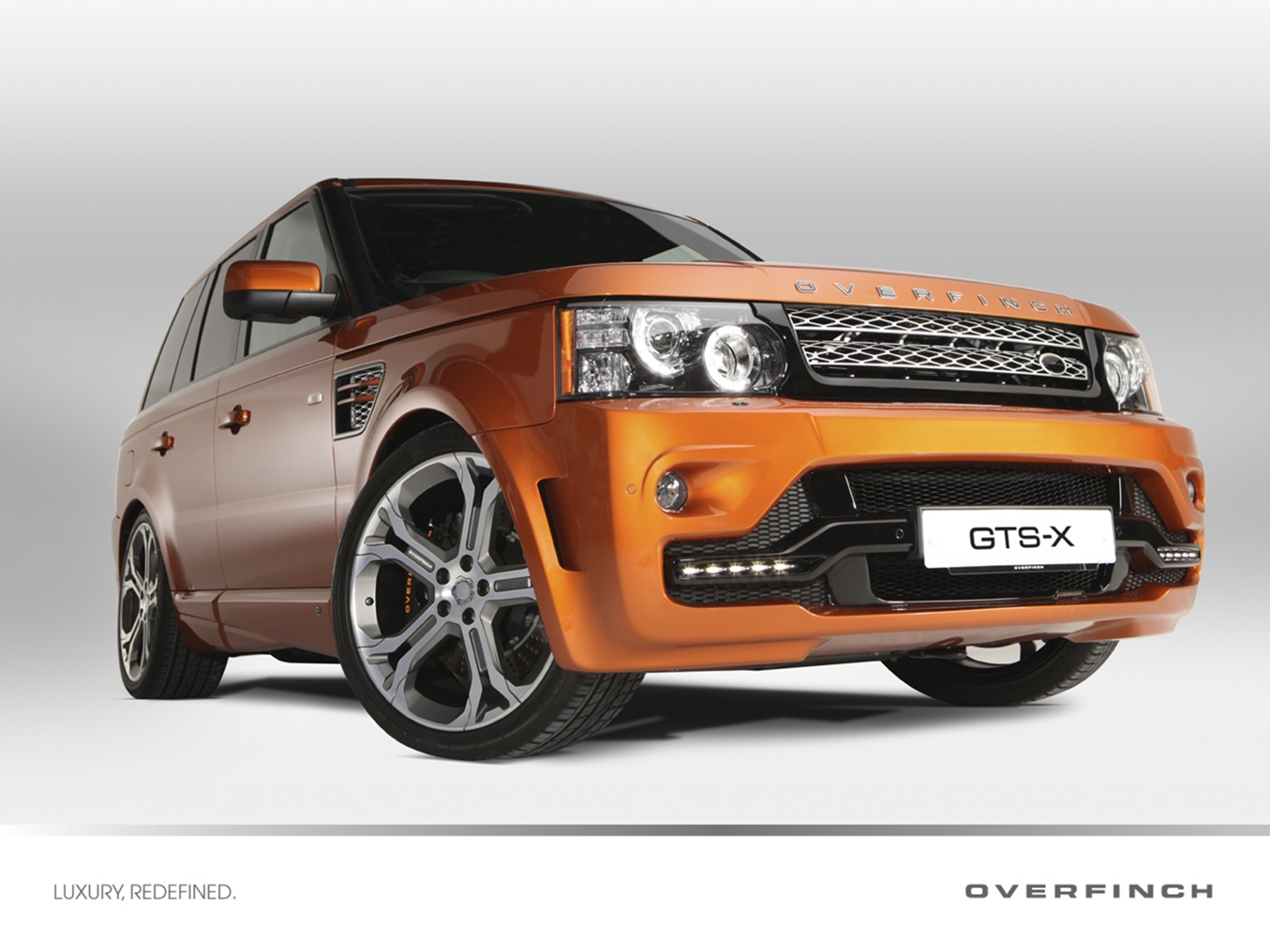 Limited Edition Overfinch Range Rover Sport GTS-X