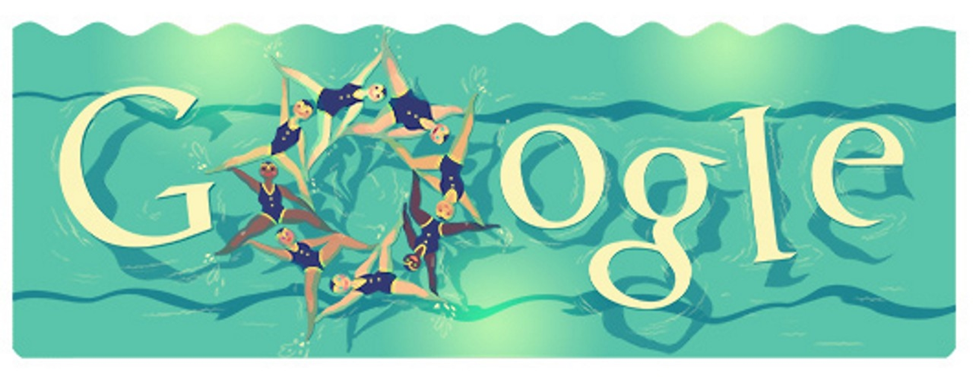 London 2012 synchronised swimming