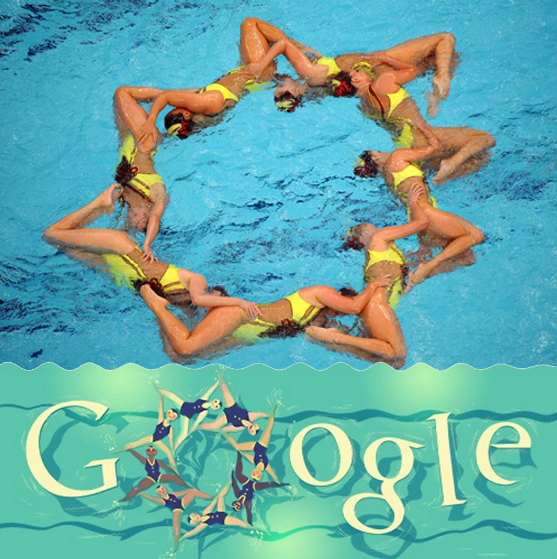 London 2012 synchronized swimming