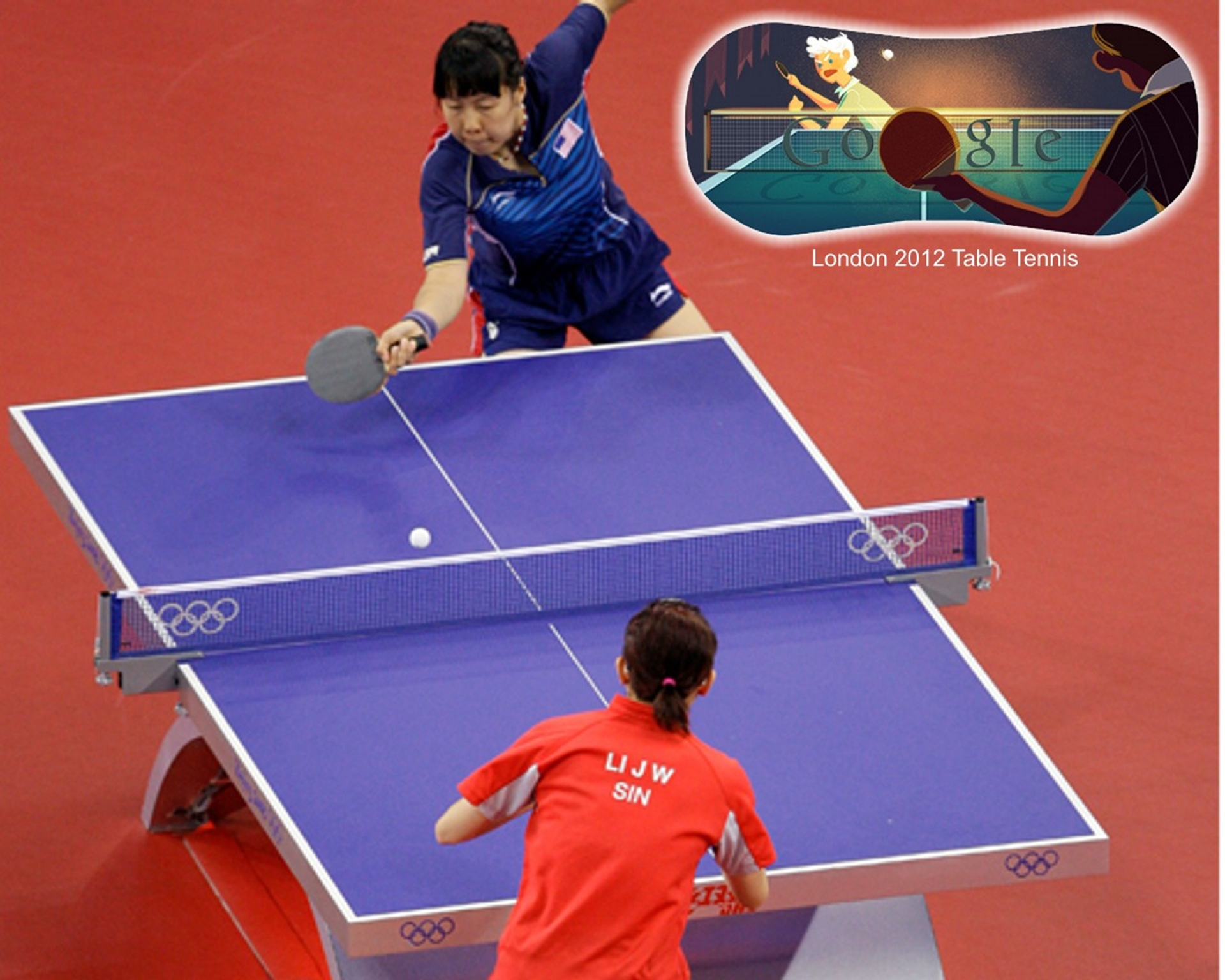 London 2012 table tennis