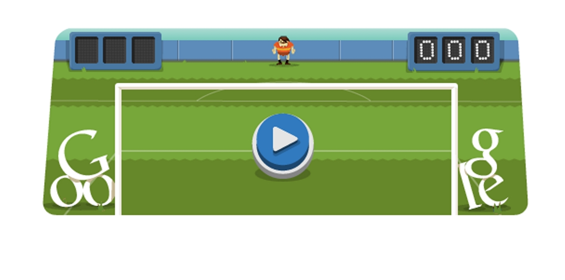 London 2012 Football Google Olympic Game