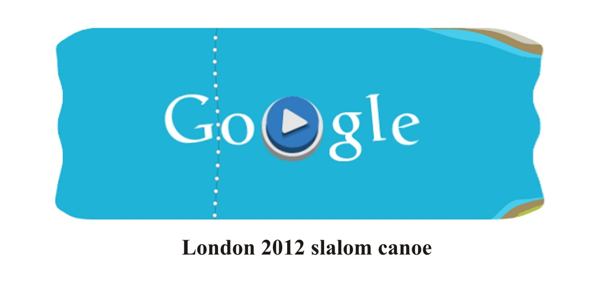 London 2012 slalom canoe game