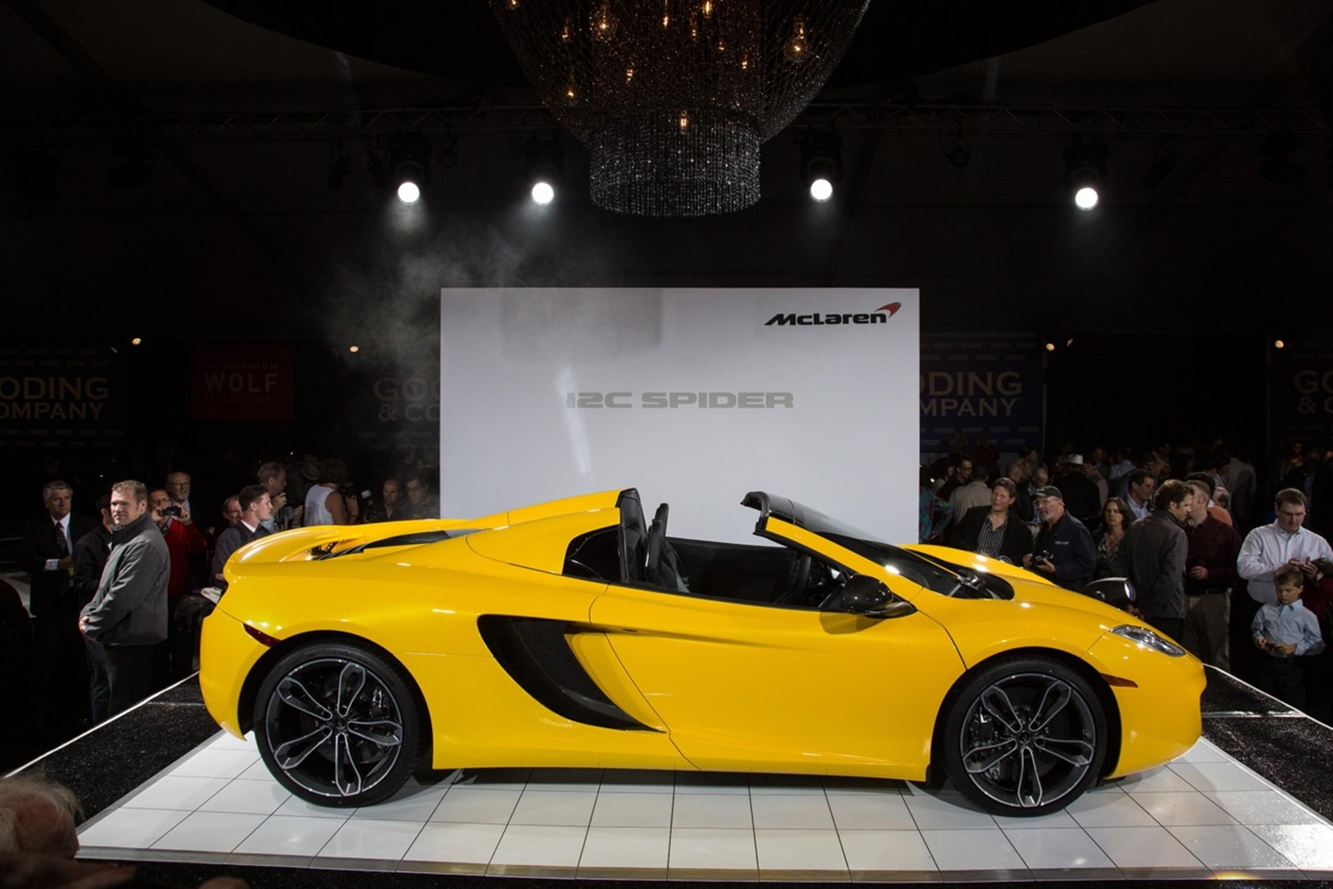 McLaren Car Shows