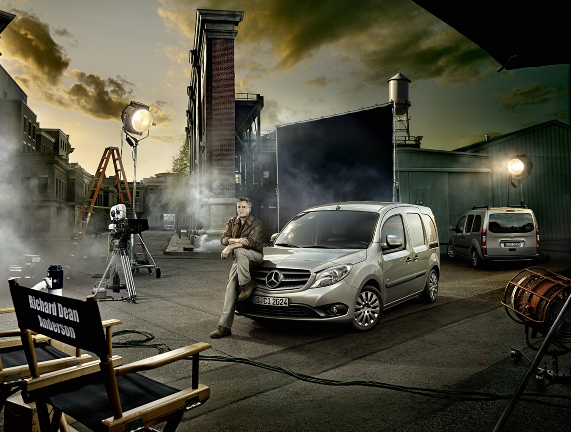 Mercedes-Benz Citan and MacGyver