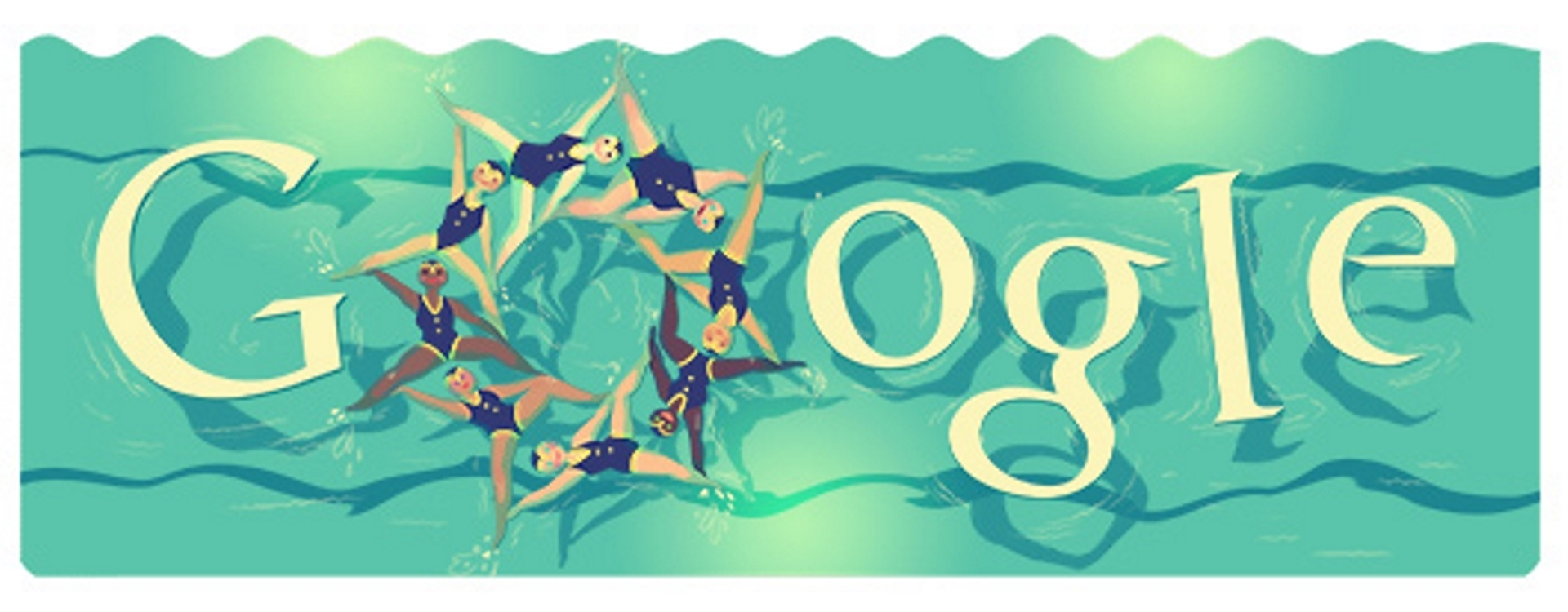 Olympic Games 2012 Synchronized Swimming