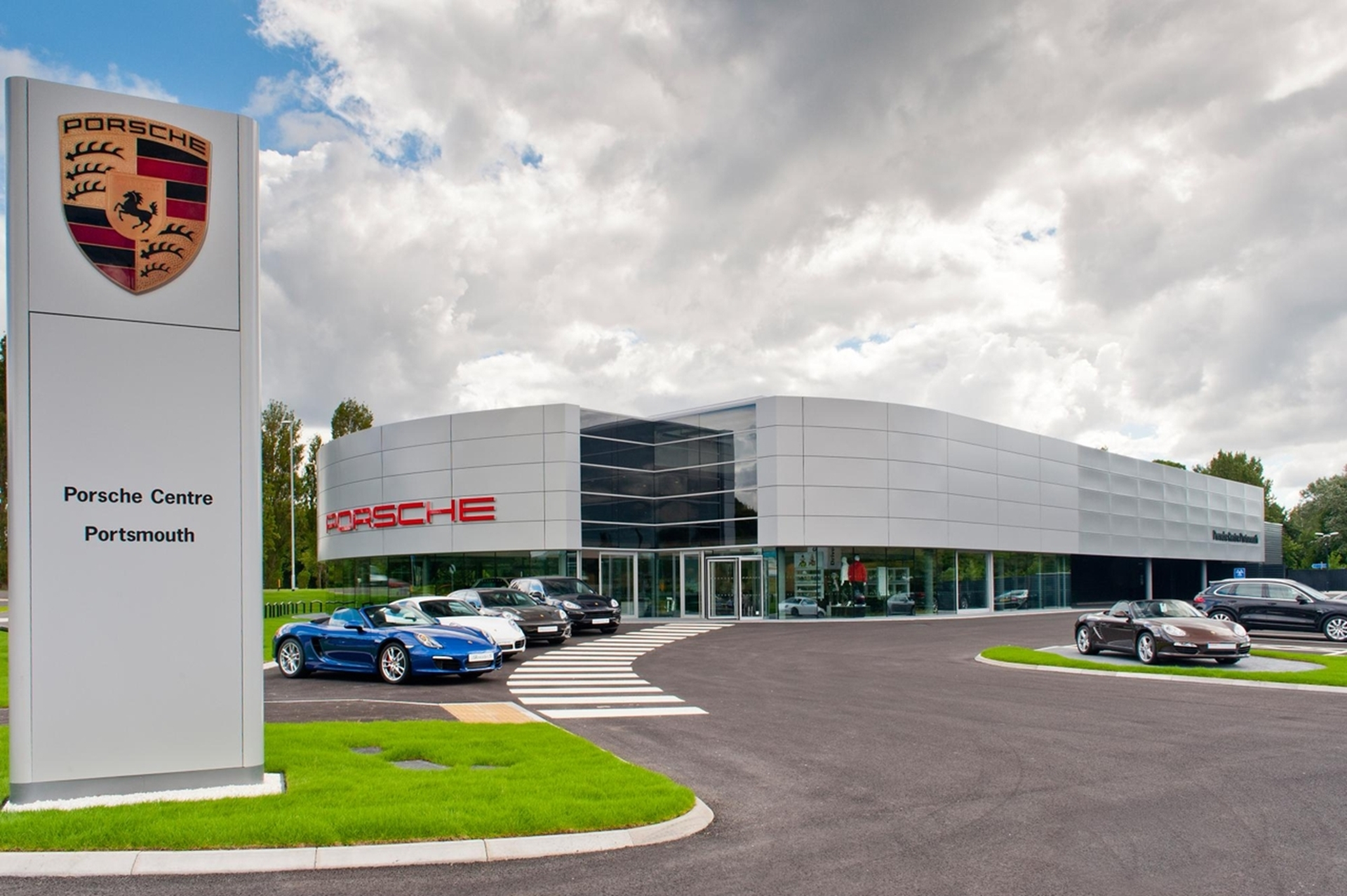 Porsche Dealership Portsmouth United Kingdom
