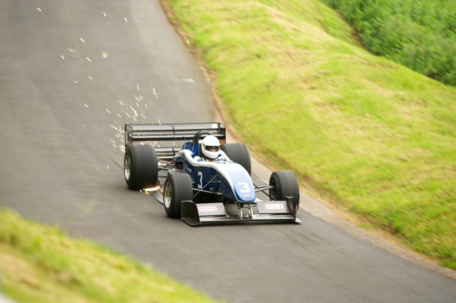 Trevor Willis at Shelsley Walsh