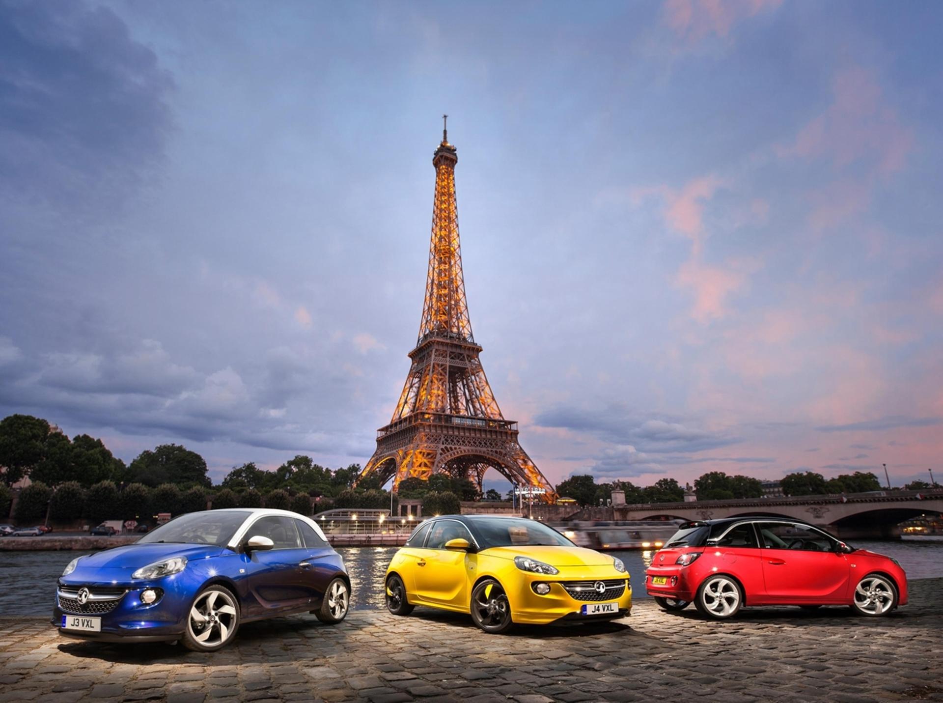 Vauxhall ADAM launches at the Paris Motor Show