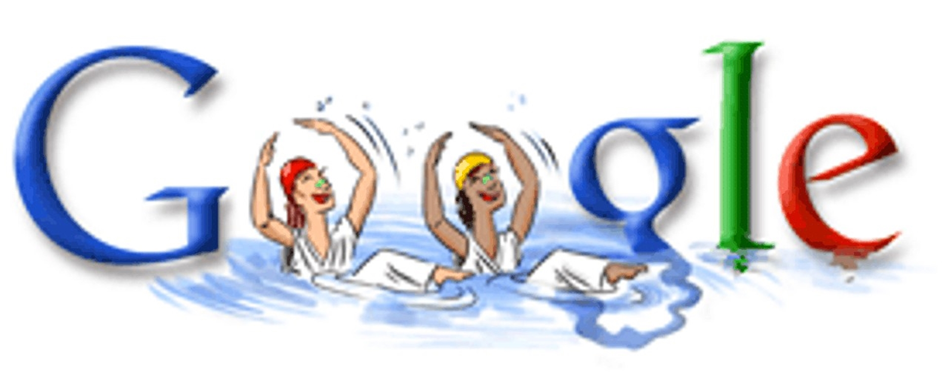 Synchronised Swimming London 2012