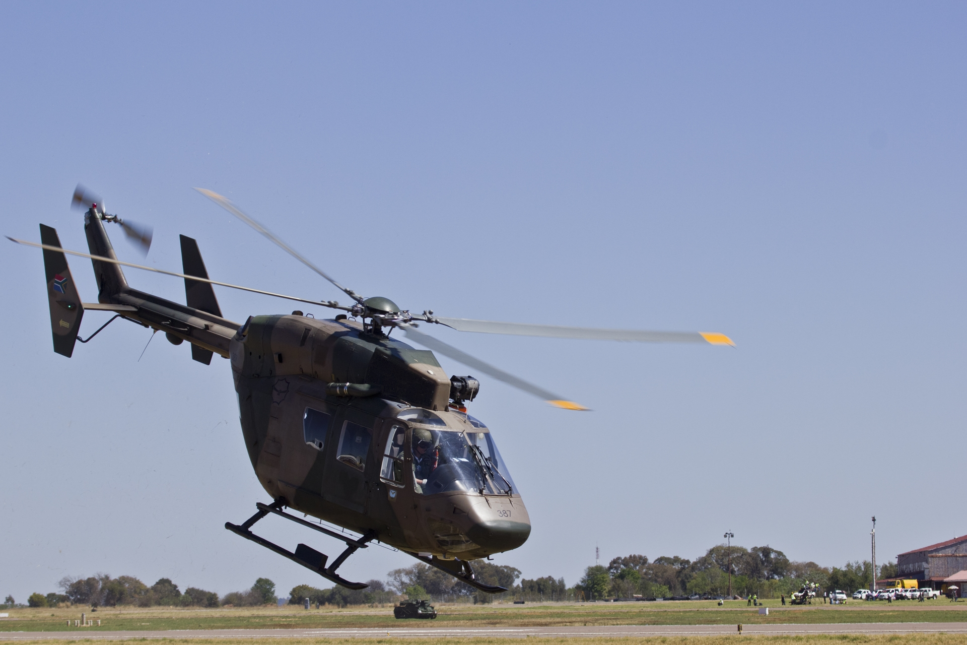 Helicopter at the Airshow