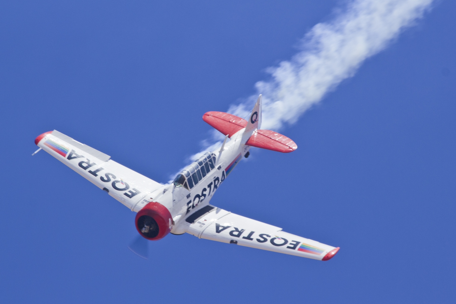 Havard Aeroplane at the Airshow