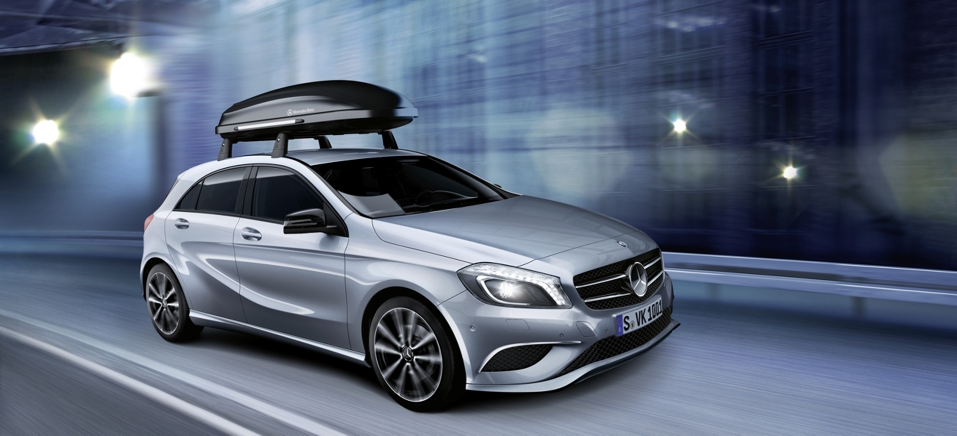 Mercedes-Benz A-Class Roof Carrier