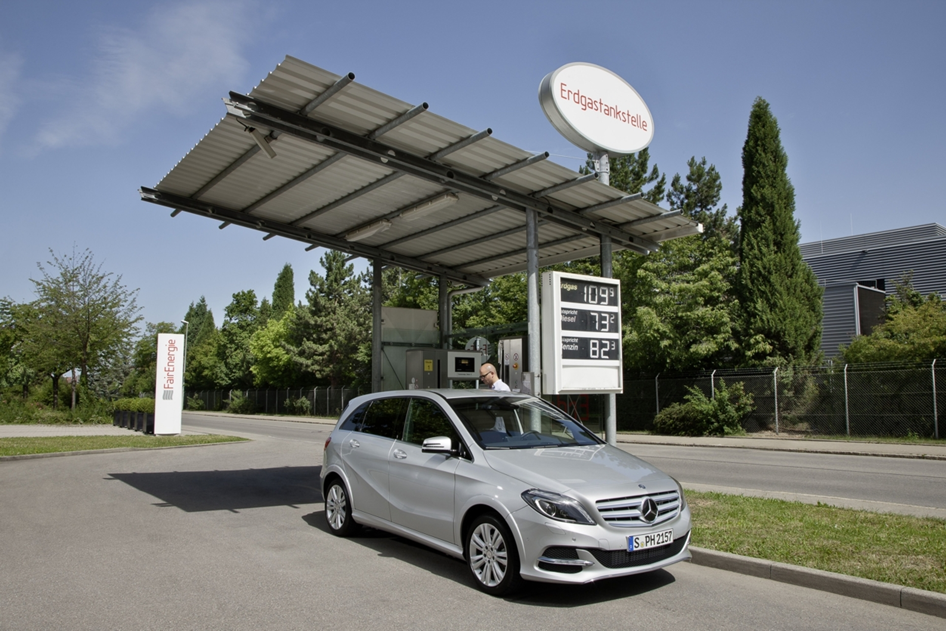Mercedes B 200 Natural Gas 2012