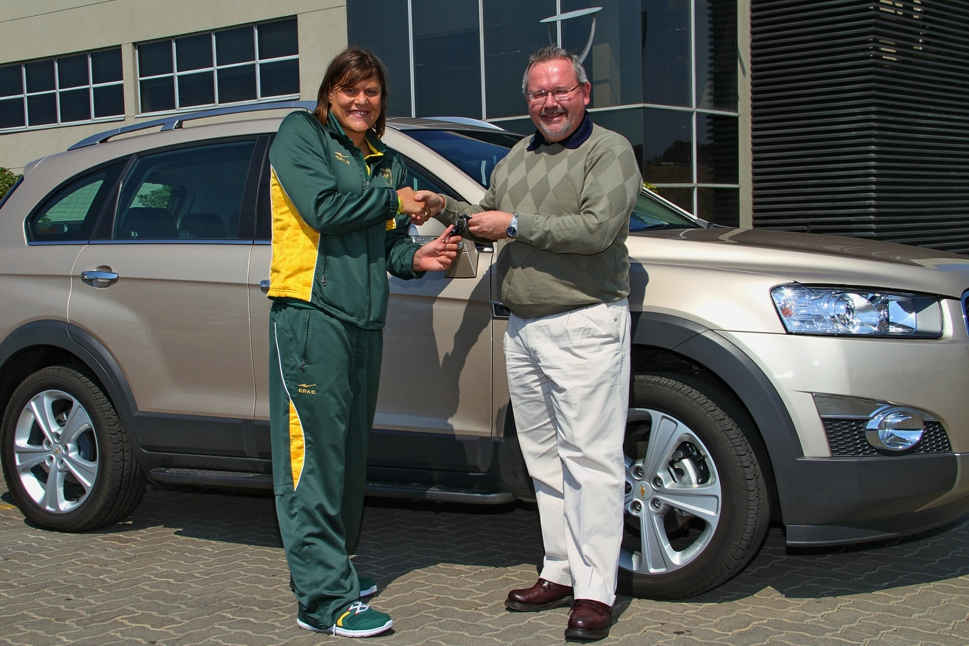 Chevrolet South Africa Goes Gold With Natalie Du Toit