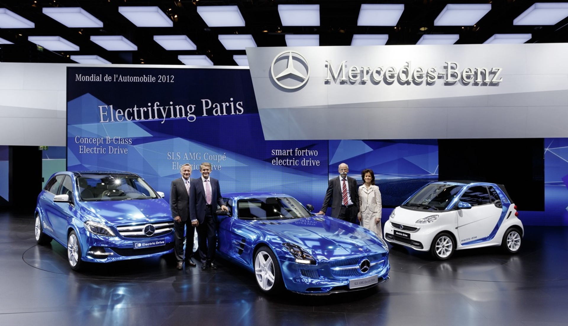 Mercedes benz and smart cars at the paris motor show - Mercedes car show ...