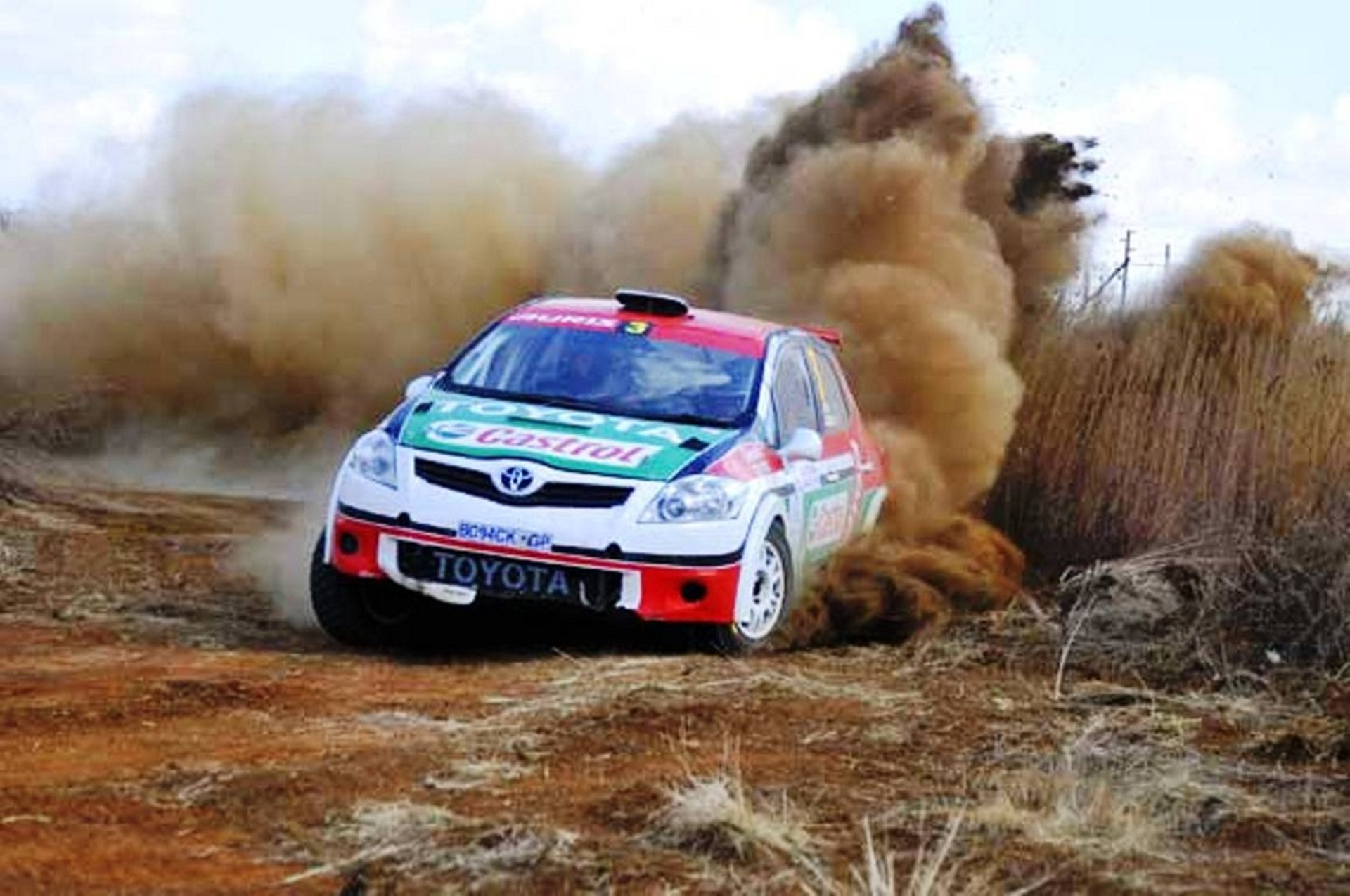Toyota Cape Rally 2012