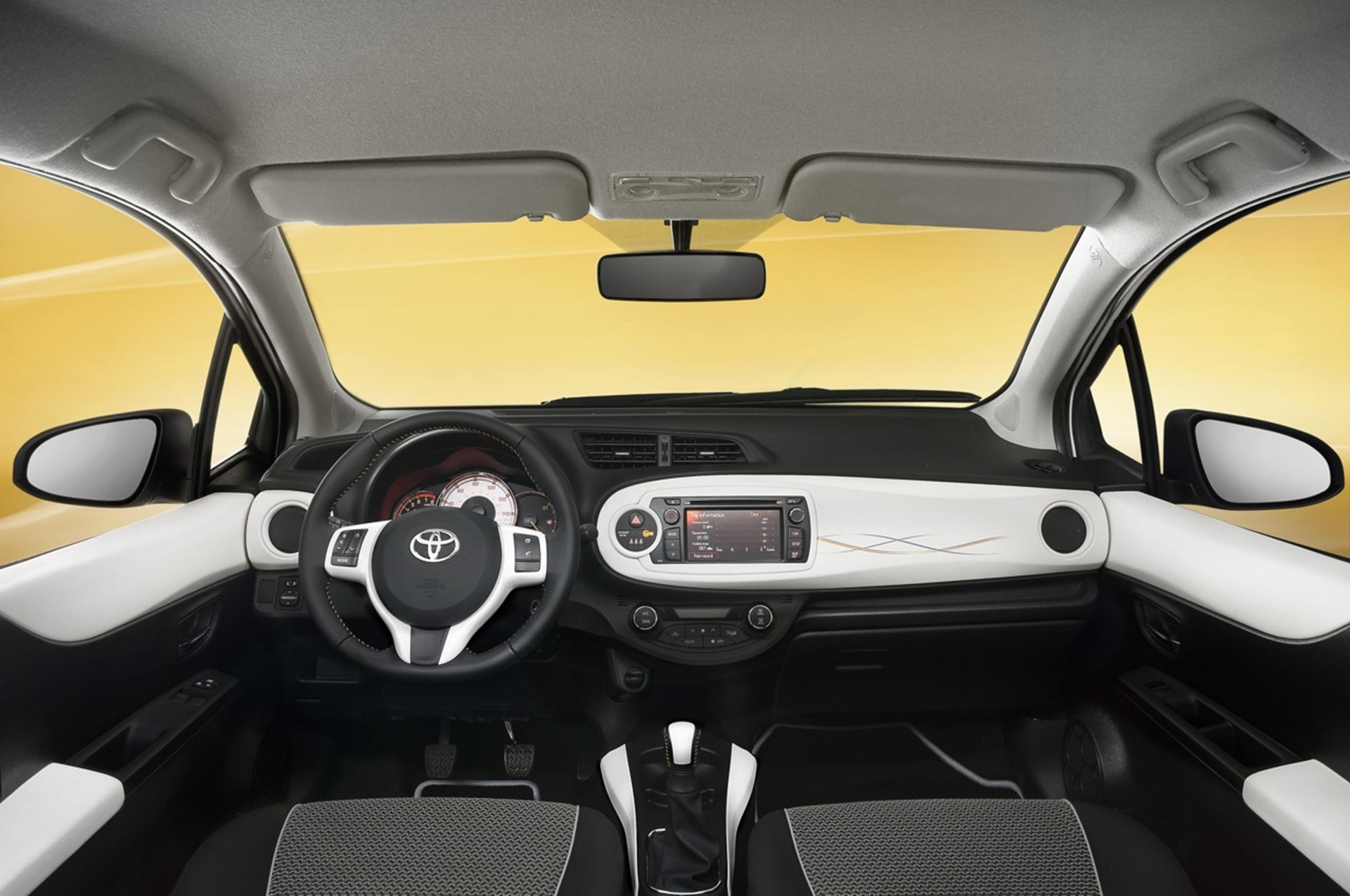 Toyota Yaris 2013 Inside