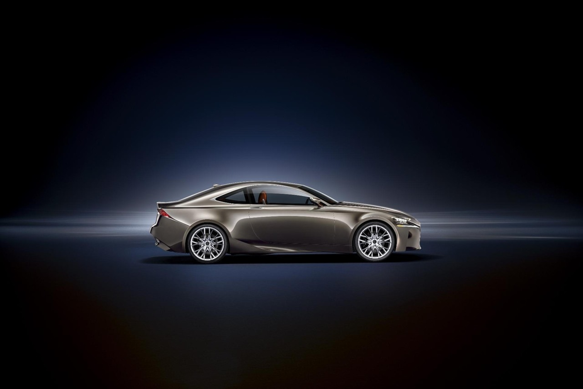 World Premiere Of Lexus LF-CC Concept
