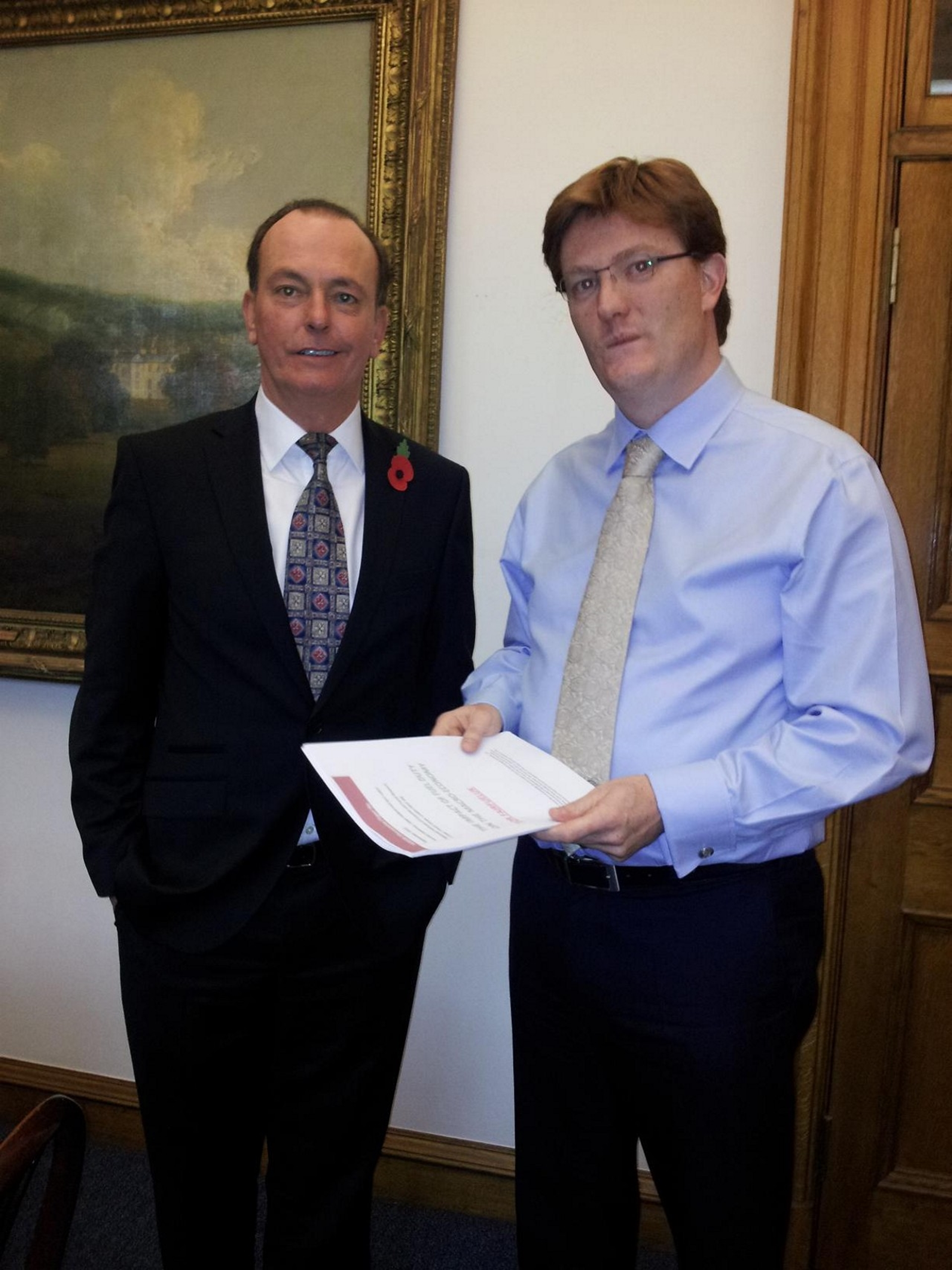 Fuel campaigners meet with top Treasury team