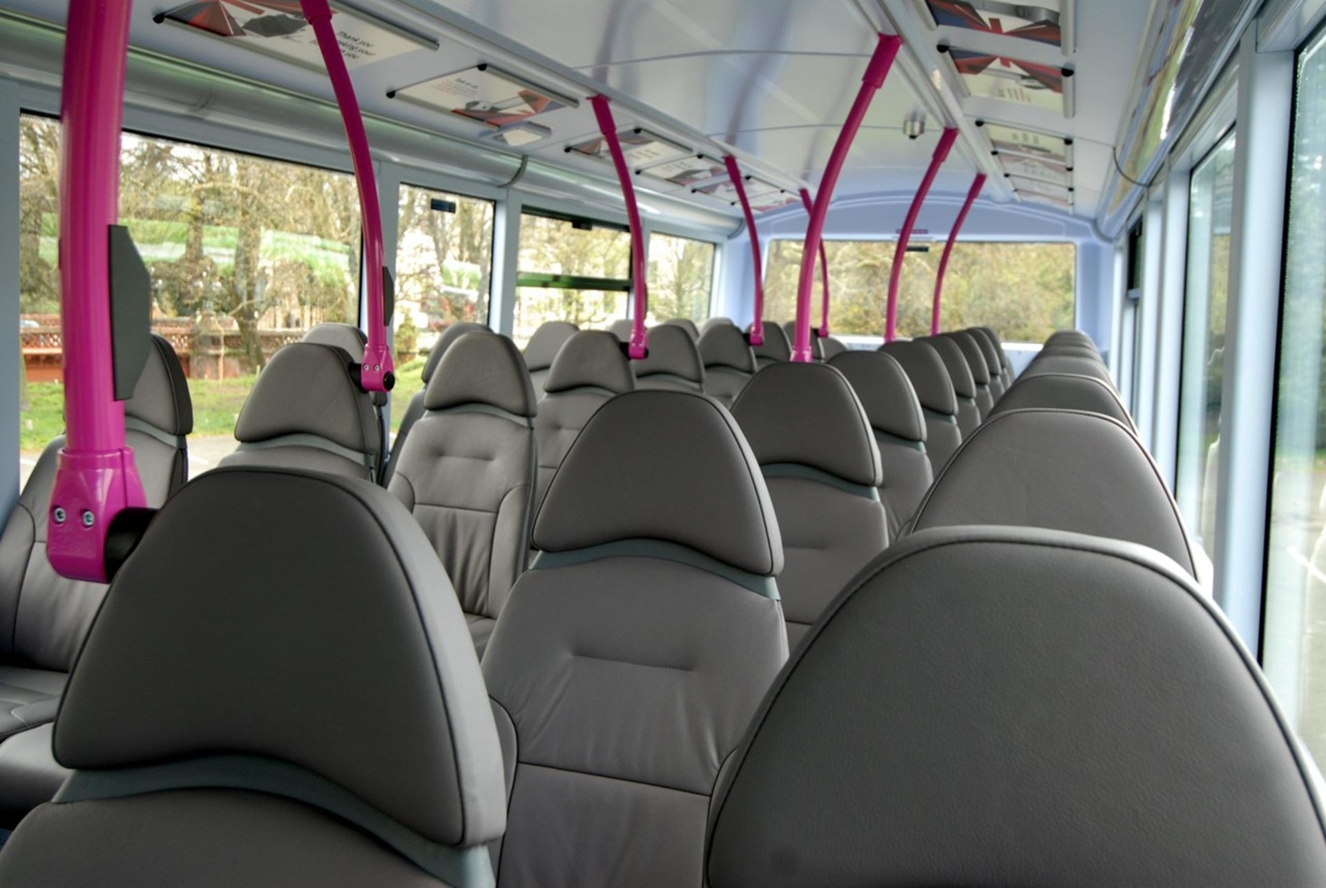 Leather Firstgroup Busses