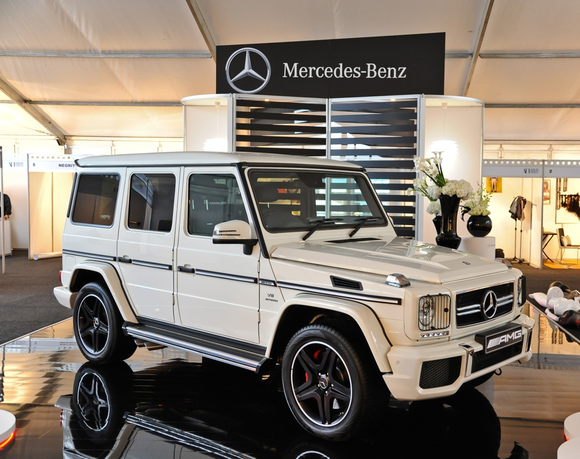 The ultimate in design and performance – the G 63 AMG