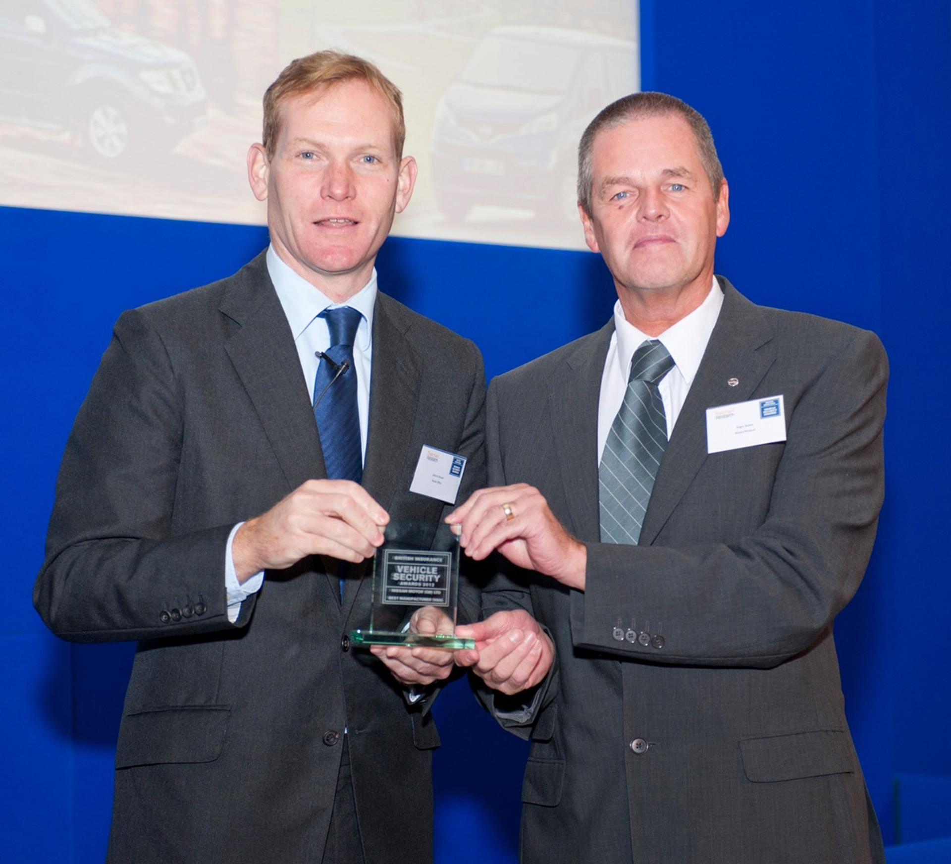 Nissan Manufacturer Security Award