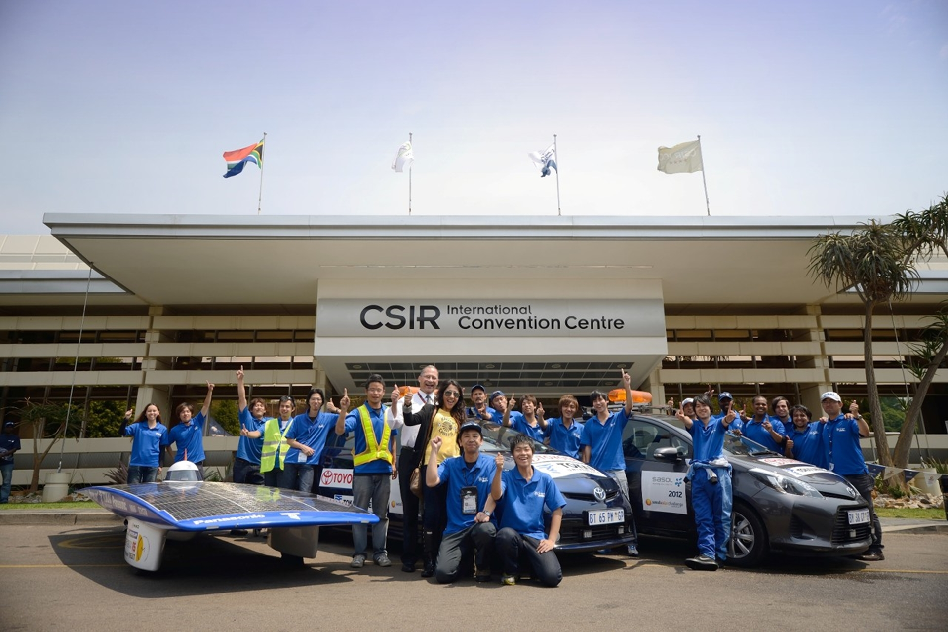 Toyota Sasol Solar Challenge South Africa