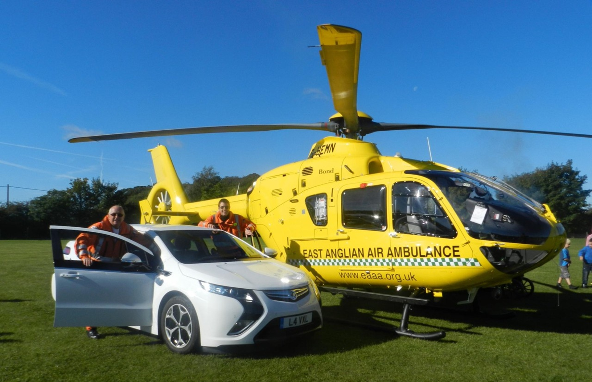 Vauxhall Ampera Air Ambulance