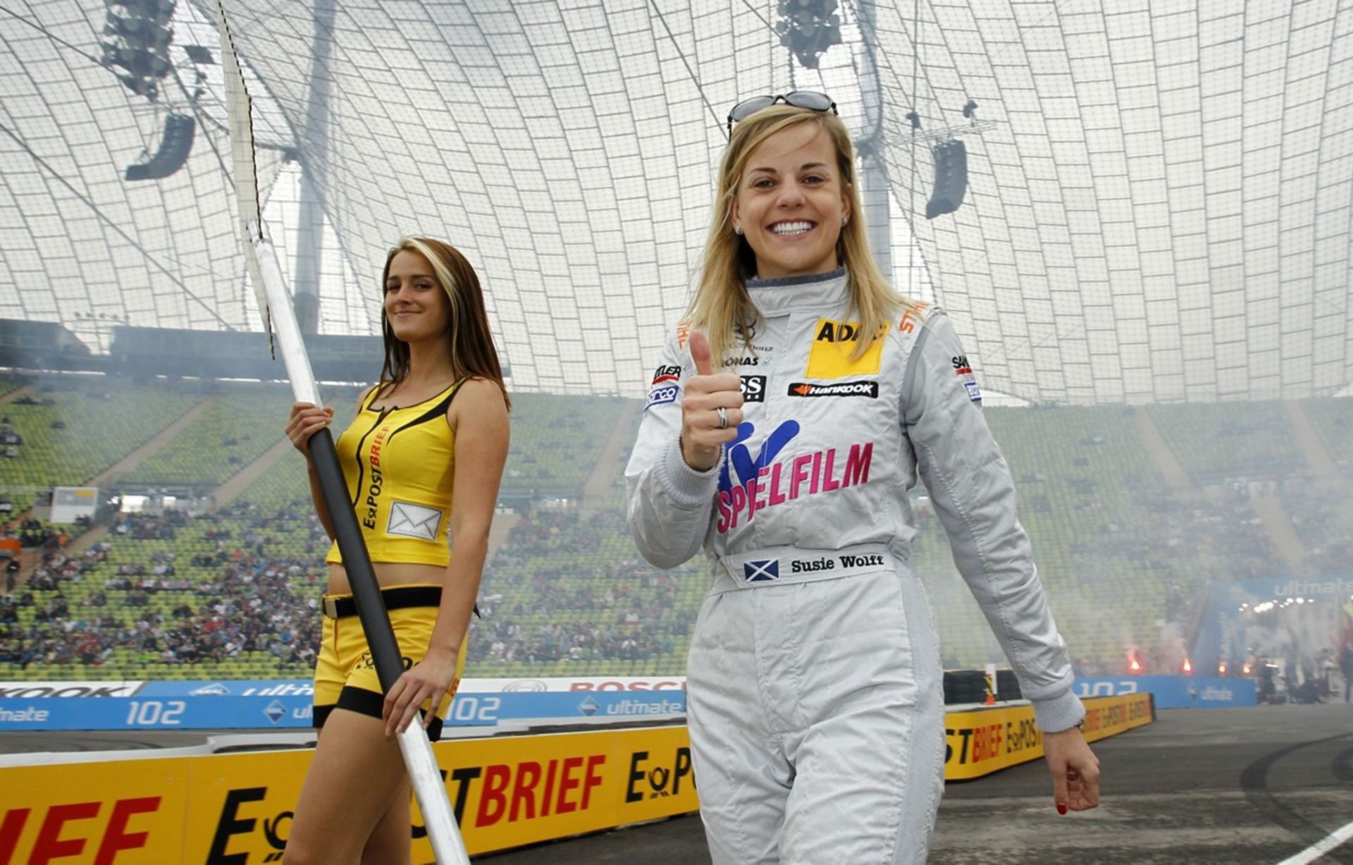 Final DTM race for Susie Wolff at the Hockenheim season finale