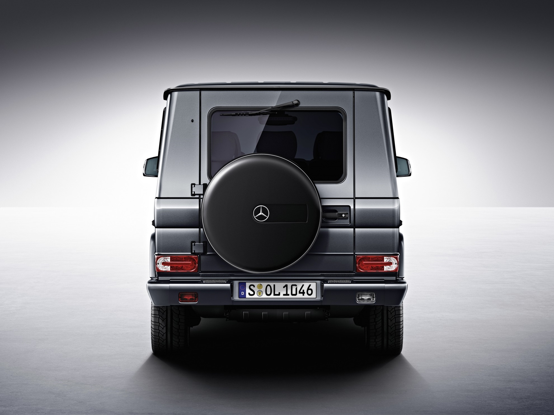 Mercedes-Benz G Class Rear View