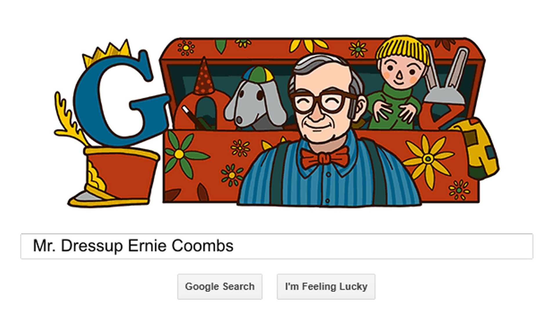 Mr Dressup Ernie Coombs