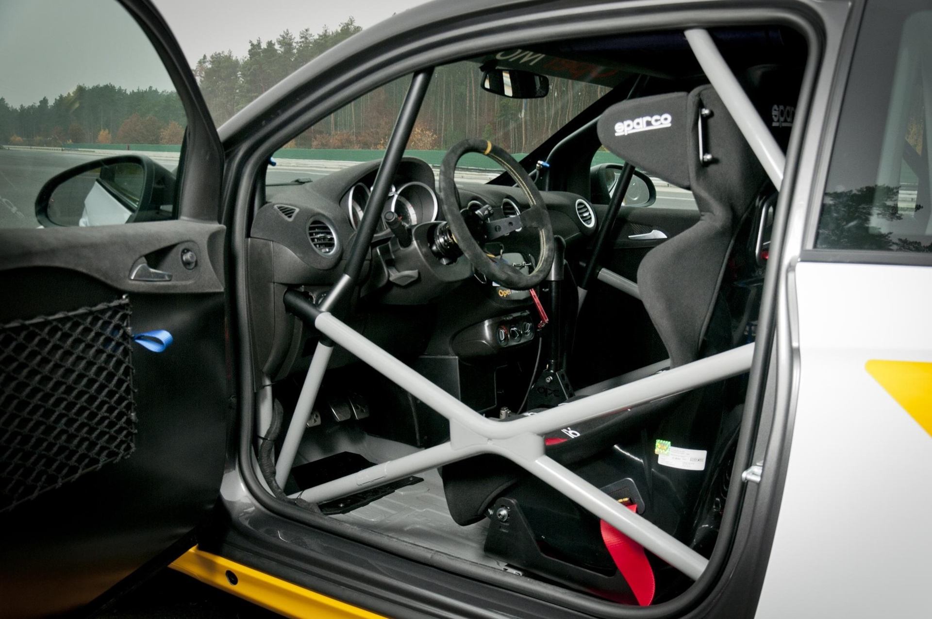Opel Racing Car Inside