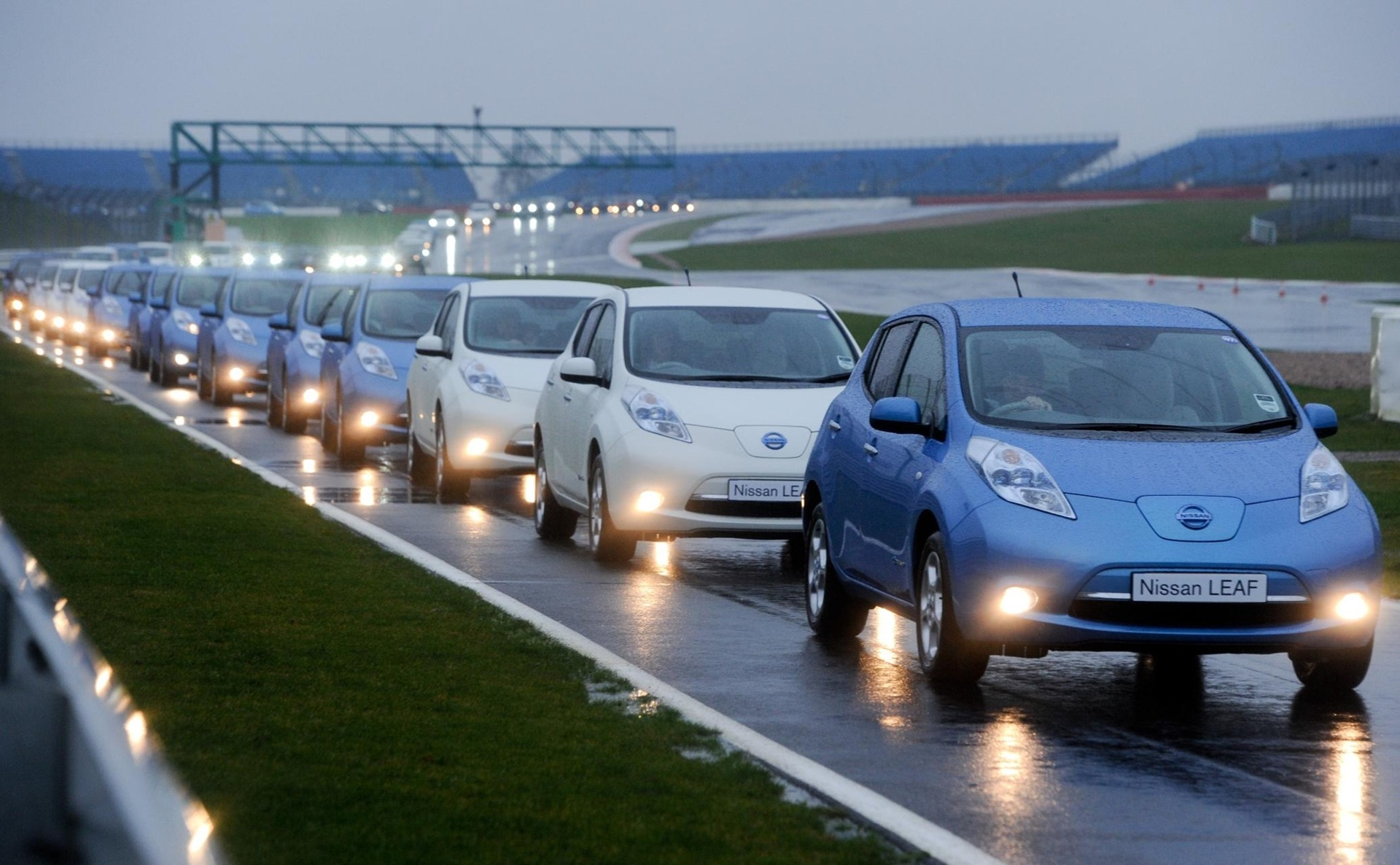 largest parade of electric vehicles