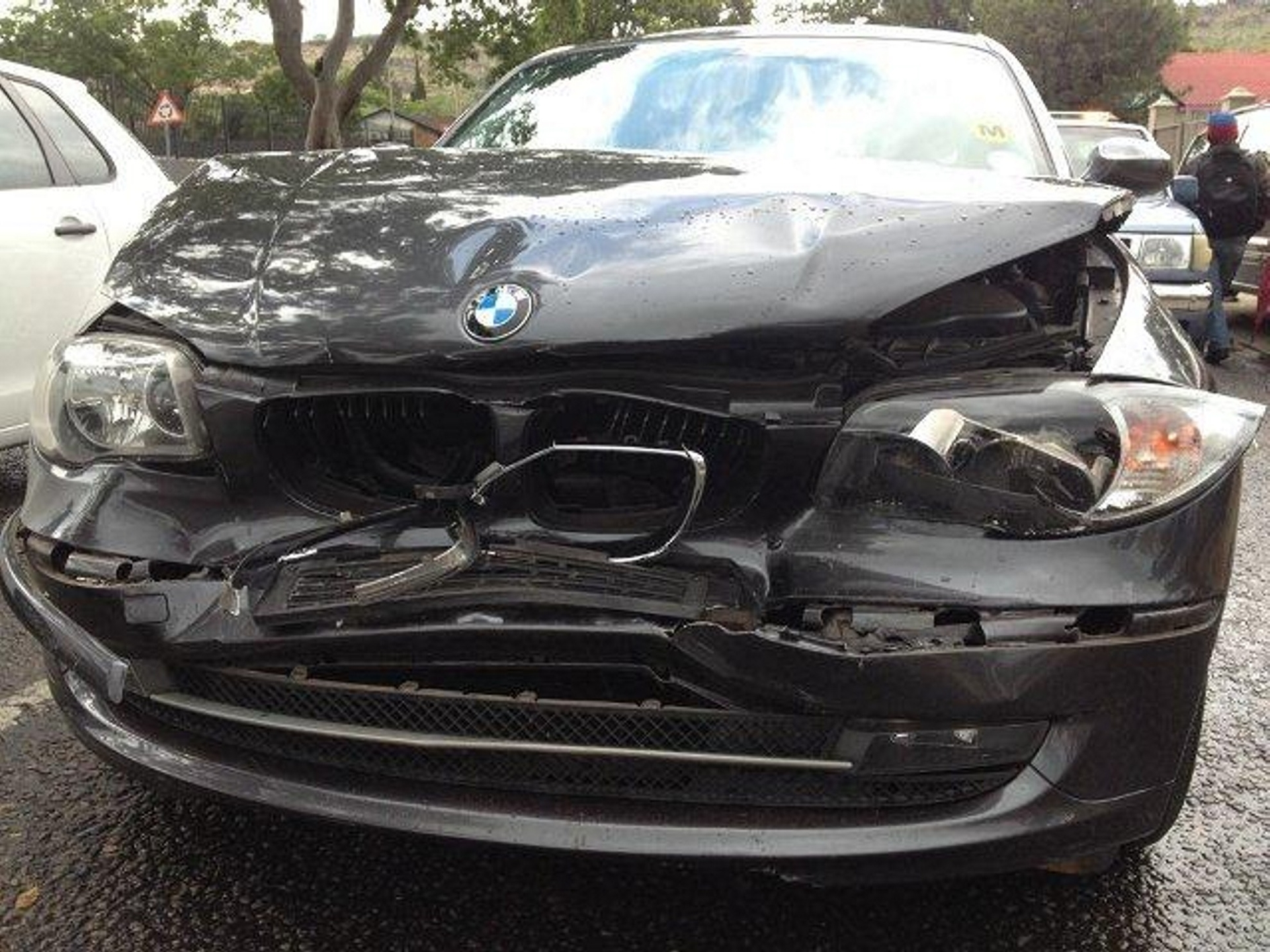 BMW Accident