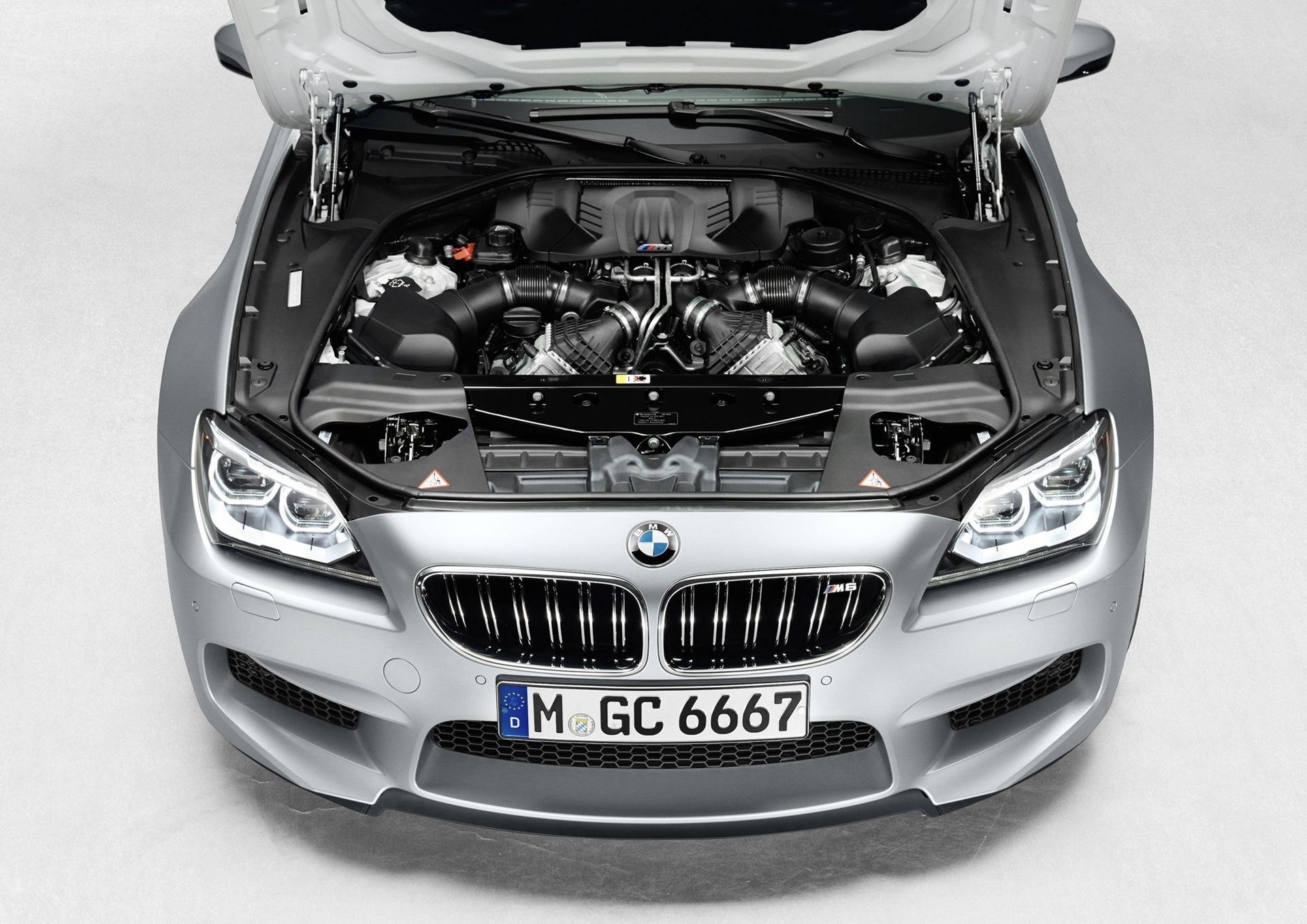 BMW M6 Gran Coupe Engine