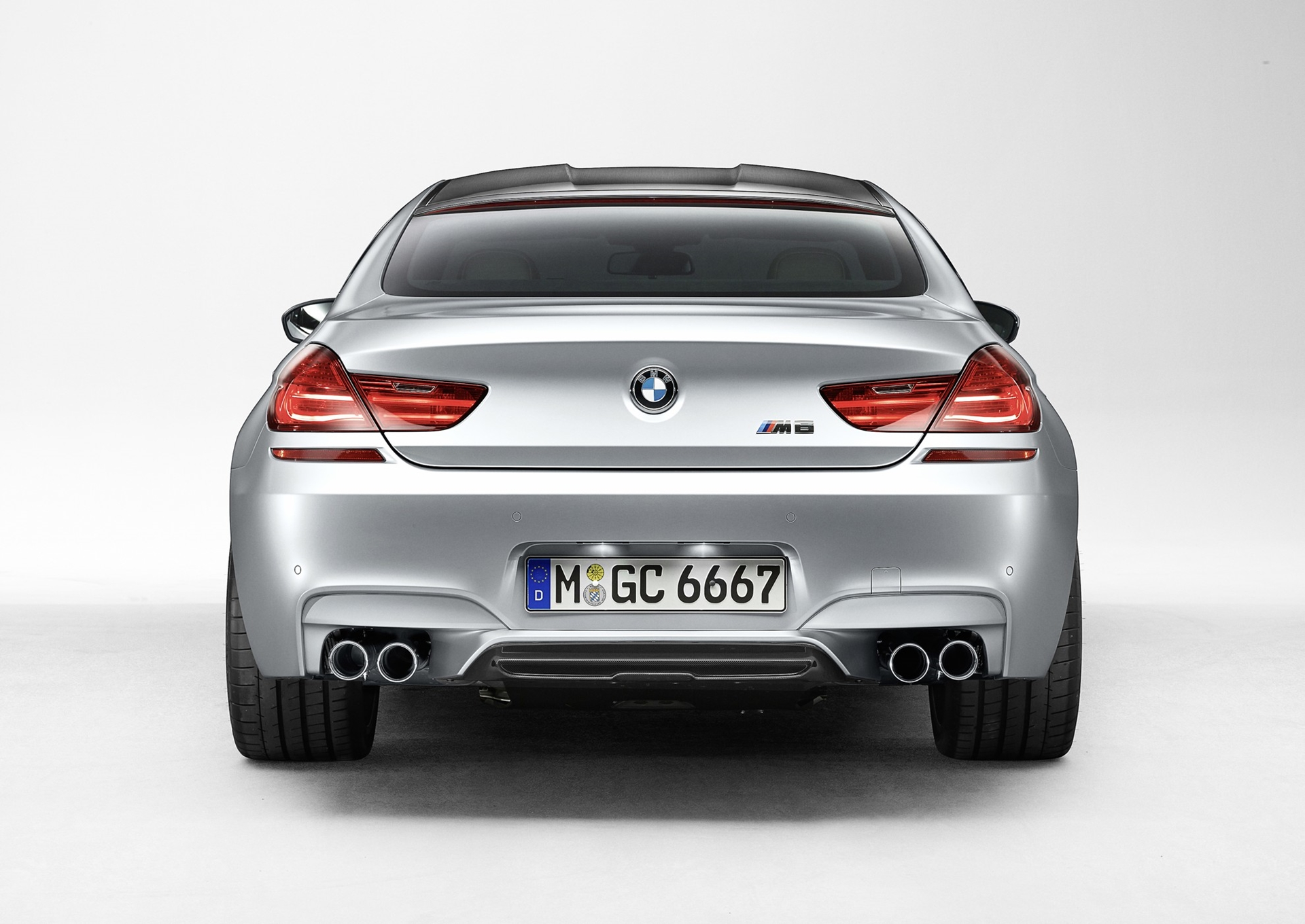 BMM M6 Gran Coupe Rear