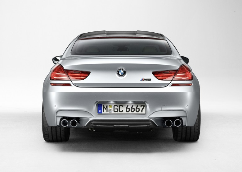 BMW M6 Gran Coupe 2013 Rear